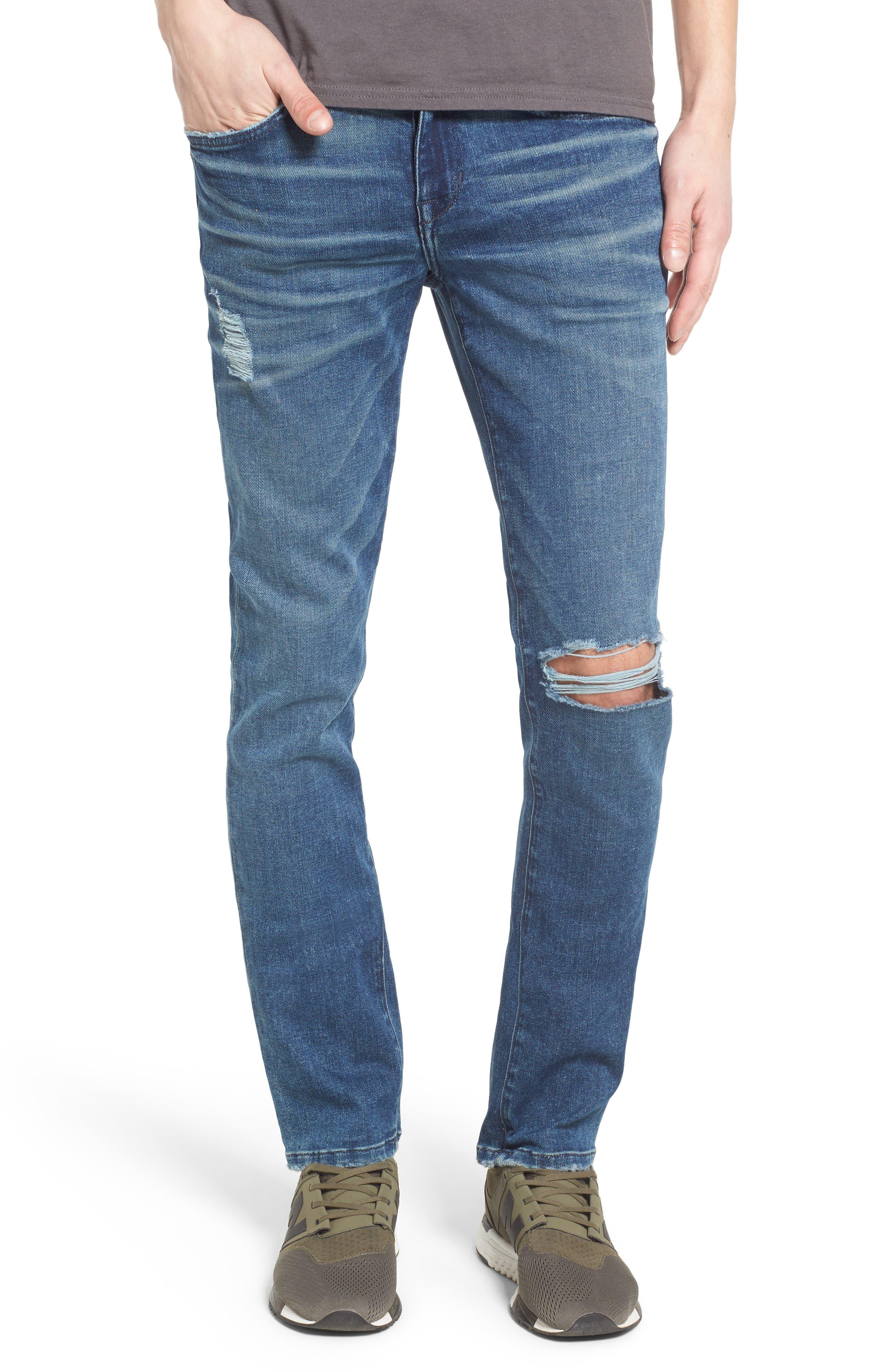 Slim Skinny Fit Jeans,                             Main thumbnail 1, color,