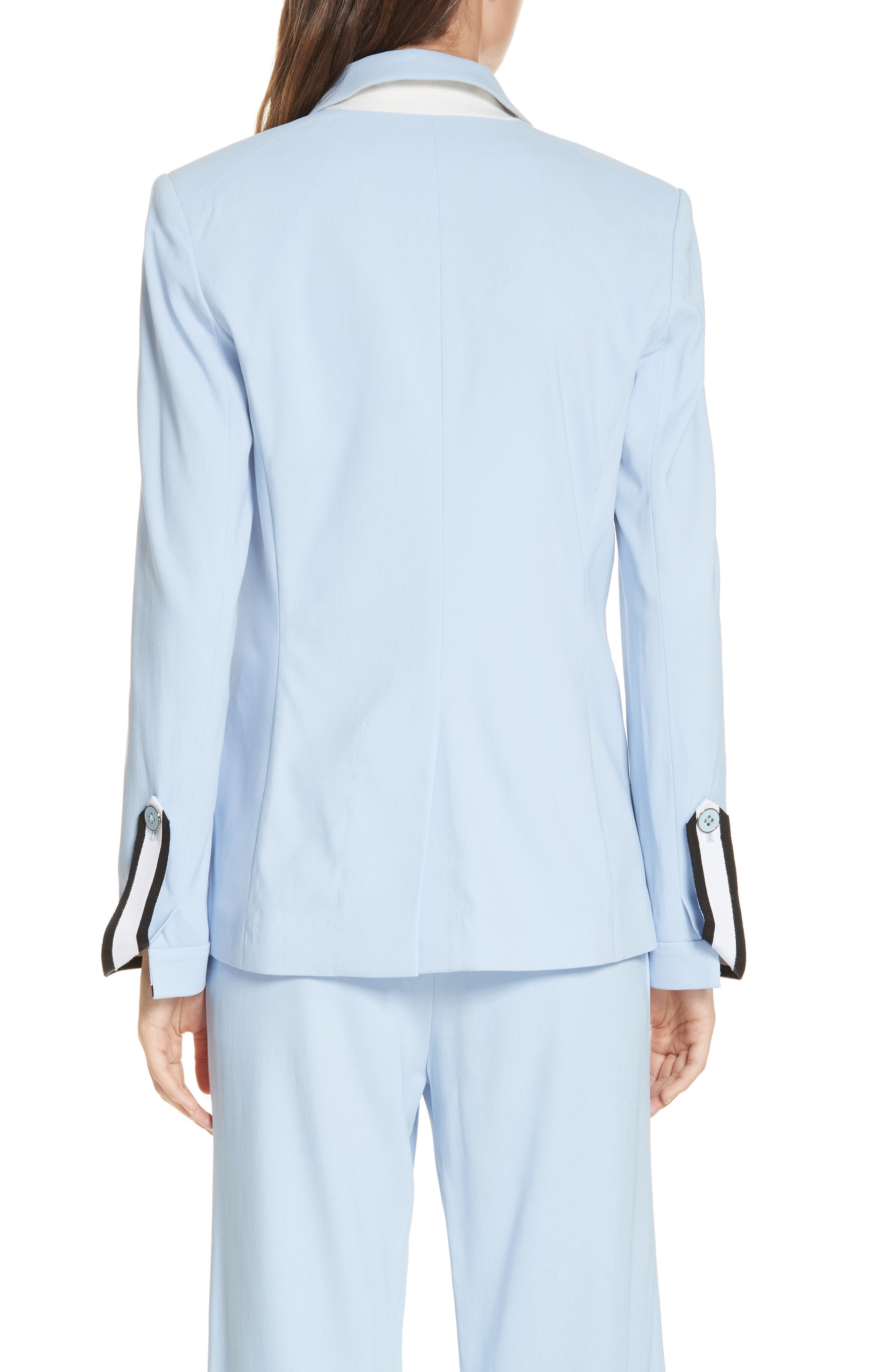 Aros Dickey Jacket,                             Alternate thumbnail 3, color,                             LIGHT BLUE