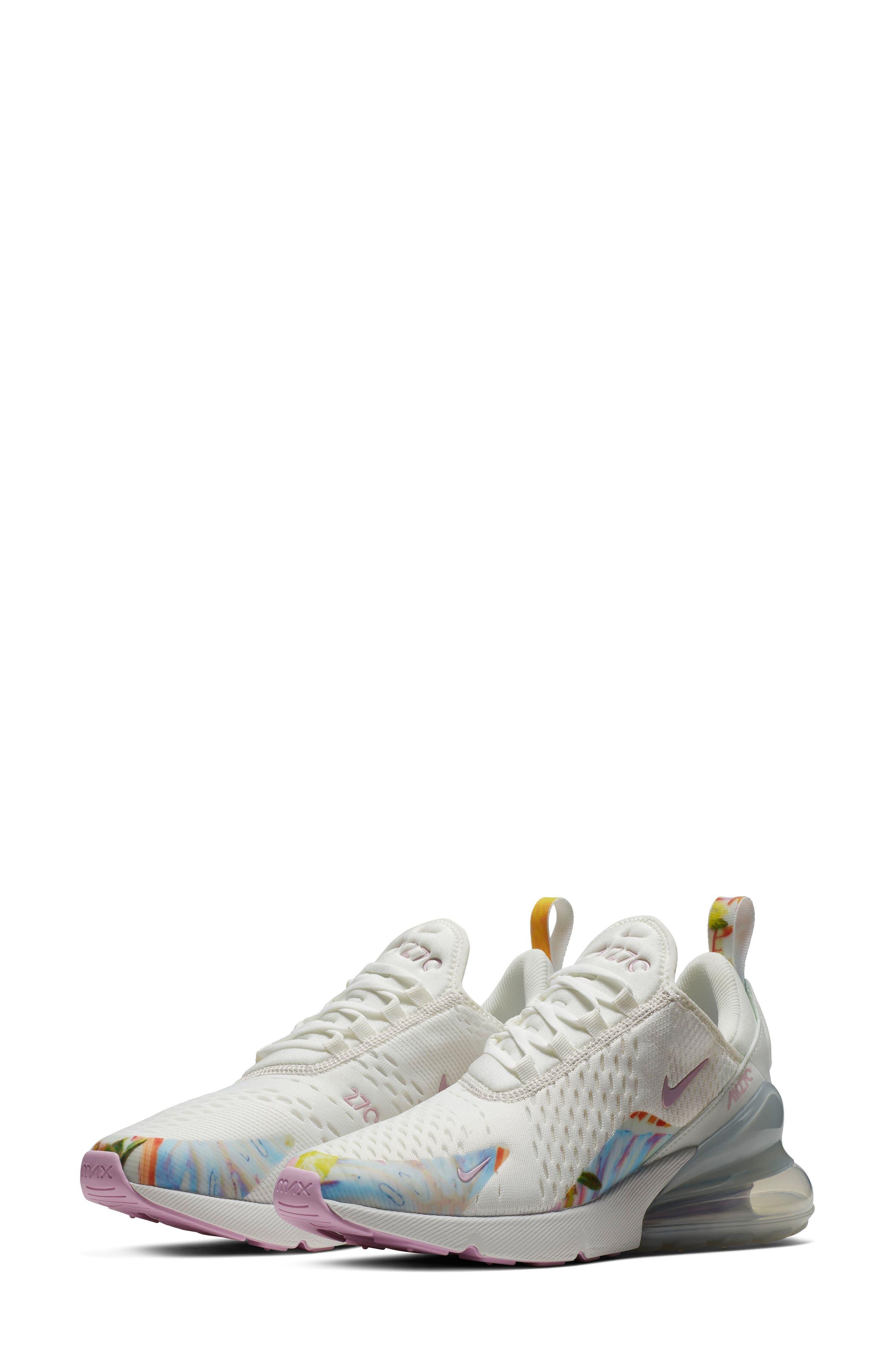 Air Max 270 Premium Sneaker,                             Main thumbnail 1, color,                             100