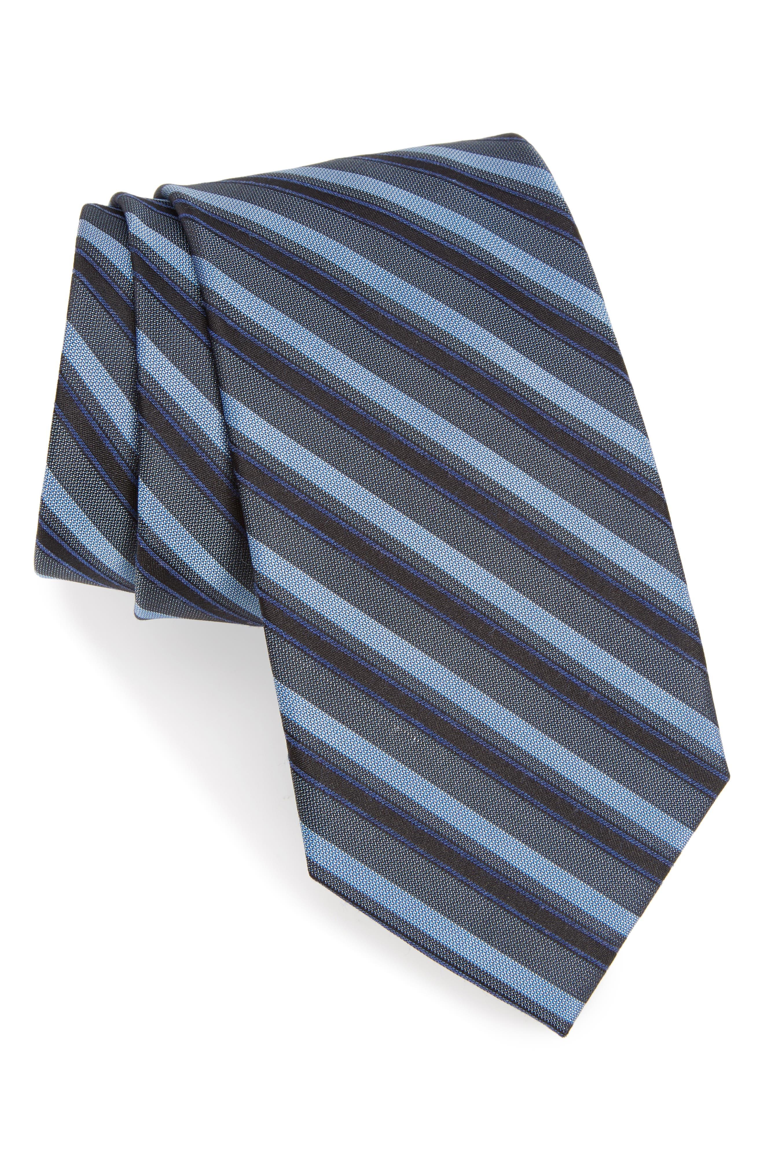 Shadow Stripe Tie,                         Main,                         color, 411