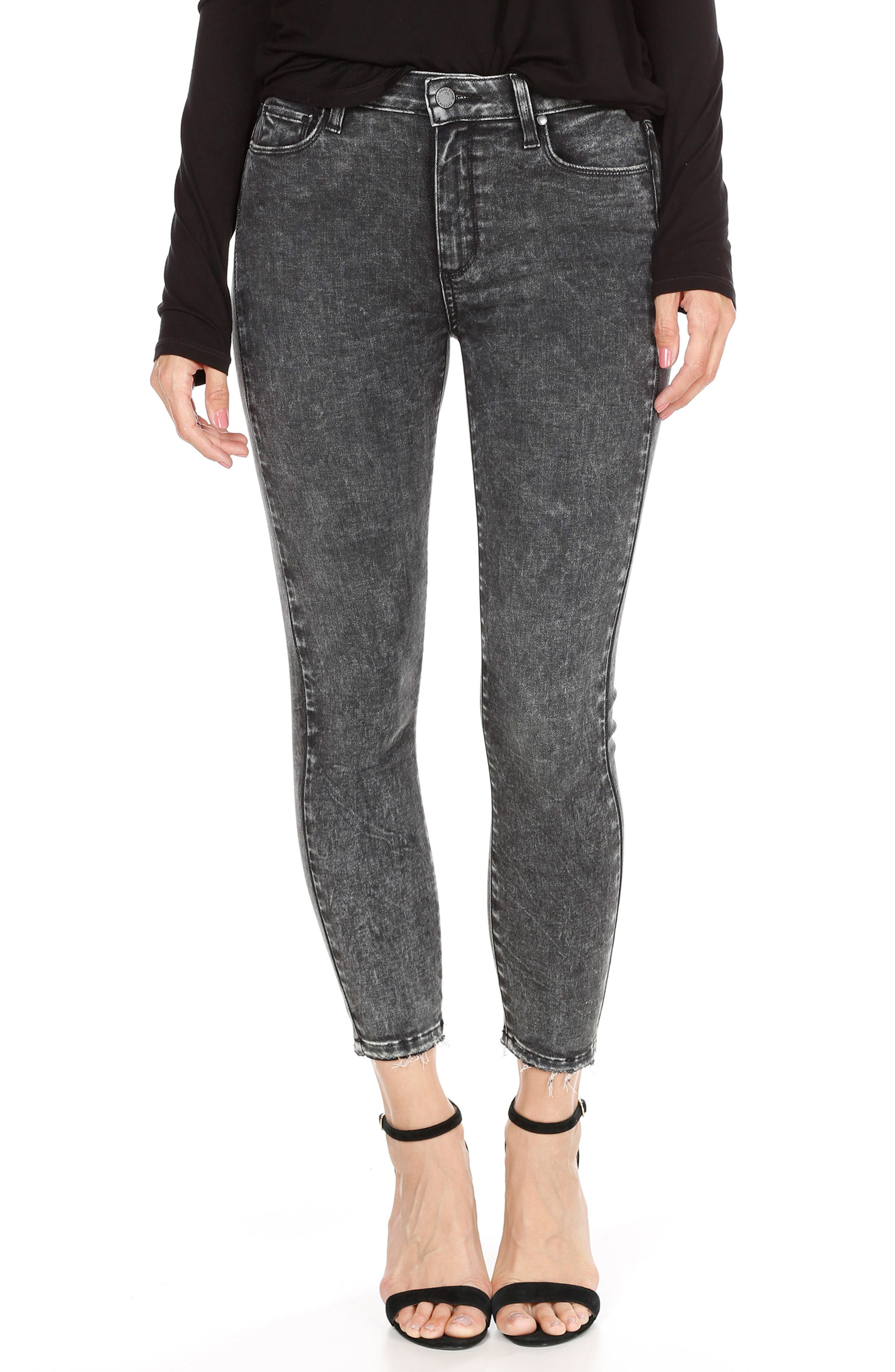 Hoxton High Waist Crop Skinny Jeans,                             Main thumbnail 1, color,                             021