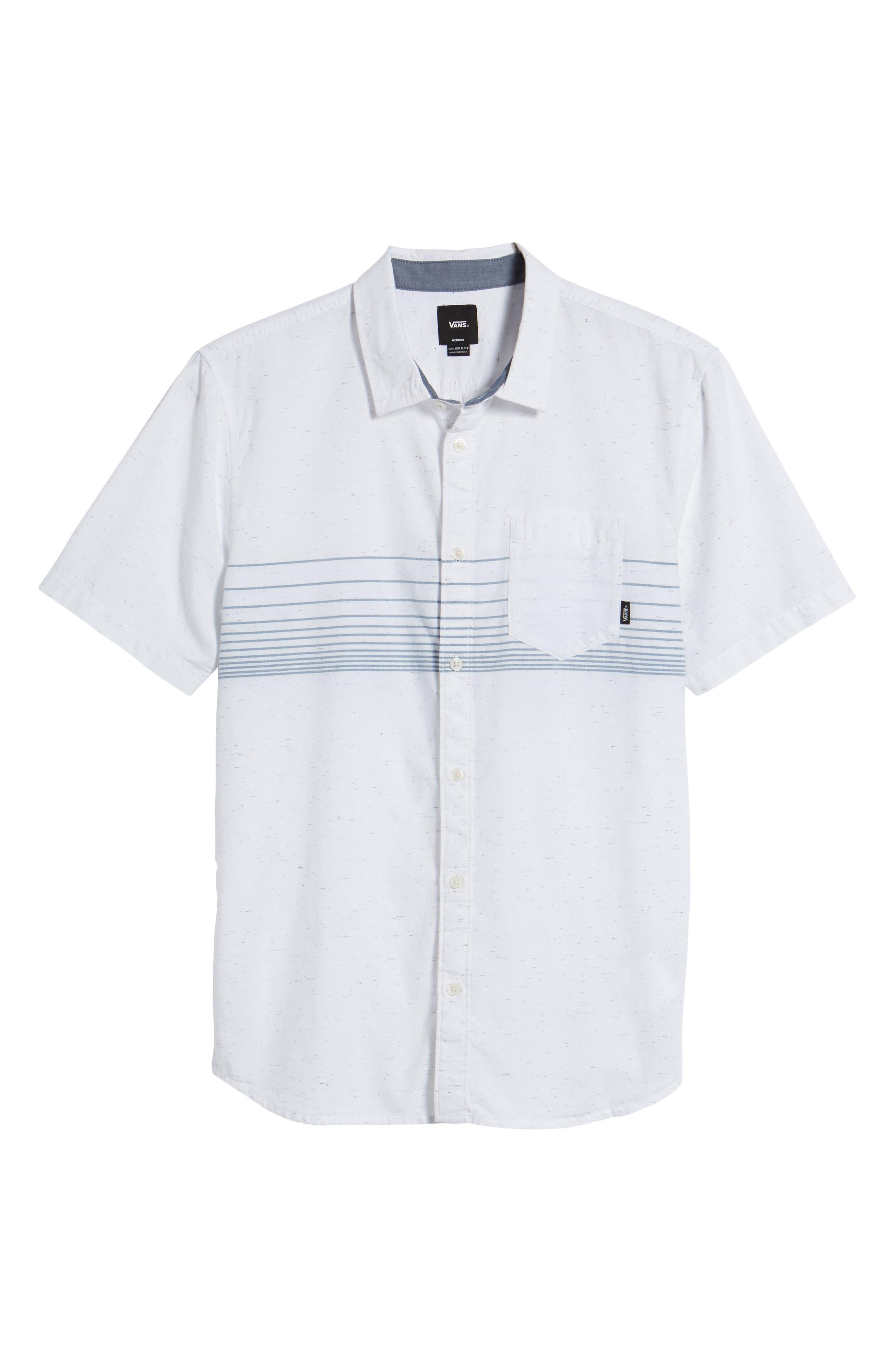 Gillis Woven Shirt,                             Alternate thumbnail 6, color,                             100