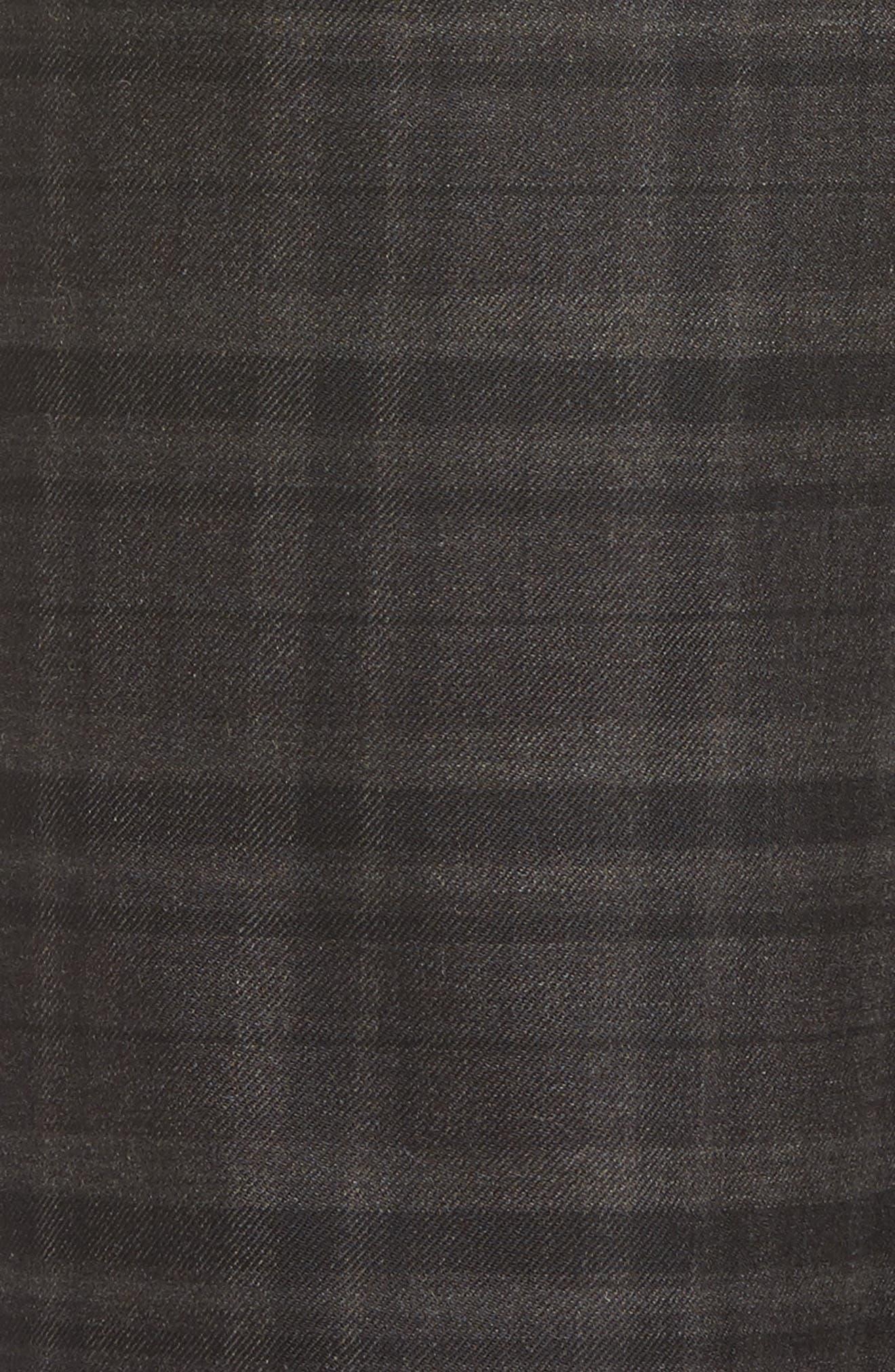 Wide Leg Plaid Crop Pants,                             Alternate thumbnail 5, color,                             021