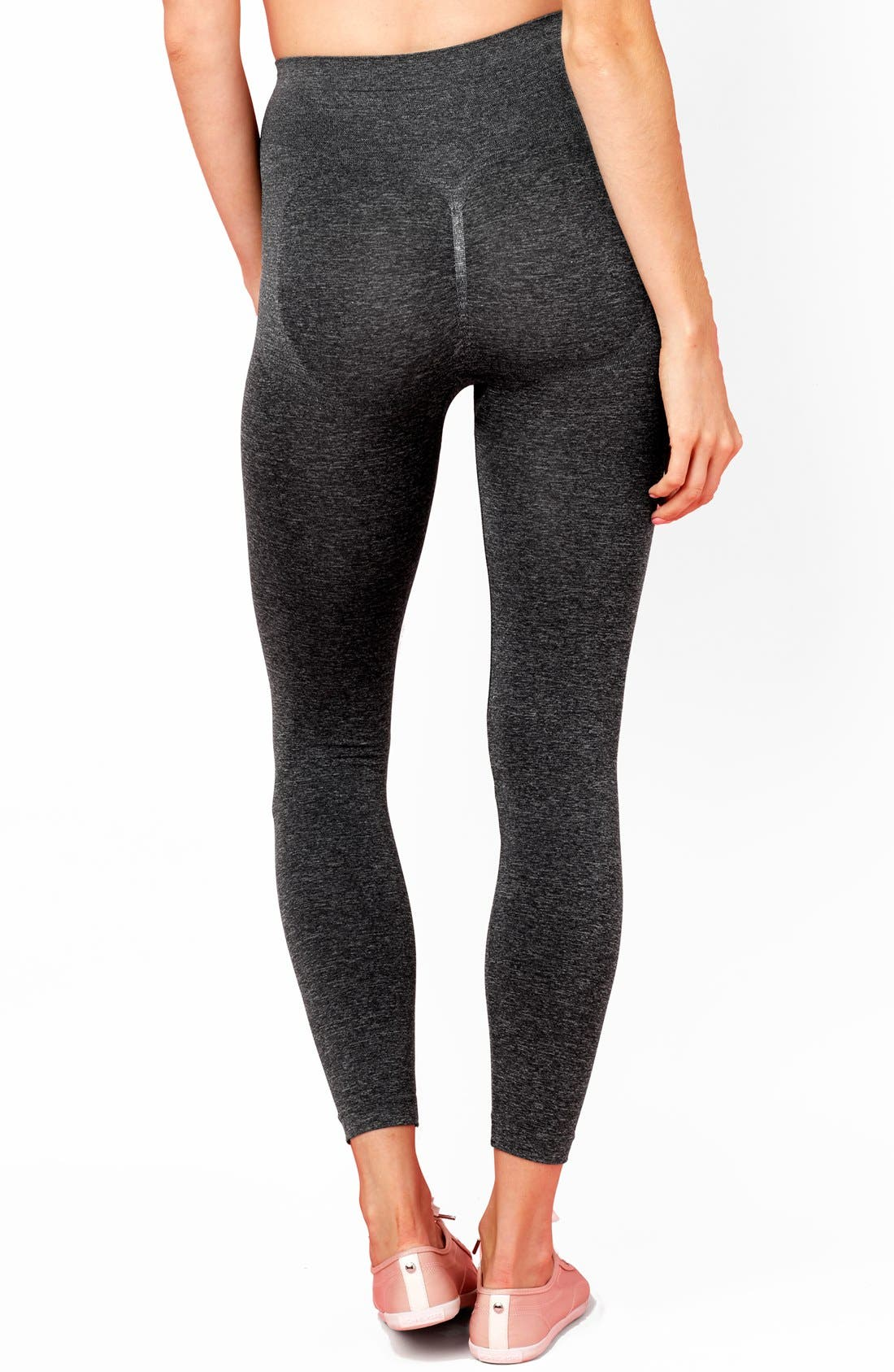 Tummy Control Postpartum Leggings,                             Alternate thumbnail 2, color,                             030