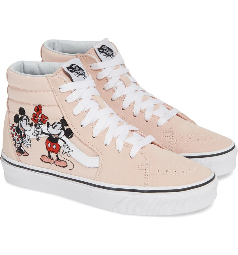 Vans x Disney Mickey   Minnie Mouse SK8-Hi Sneaker (Women)  de866766c