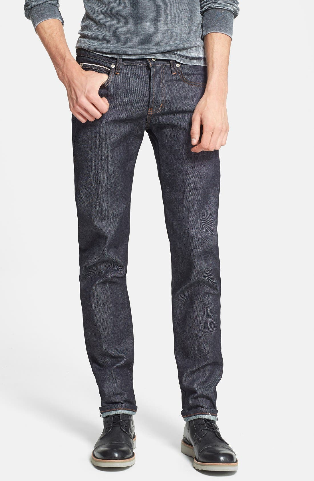 'Super Skinny Guy' Skinny Fit Jeans,                             Main thumbnail 1, color,                             401