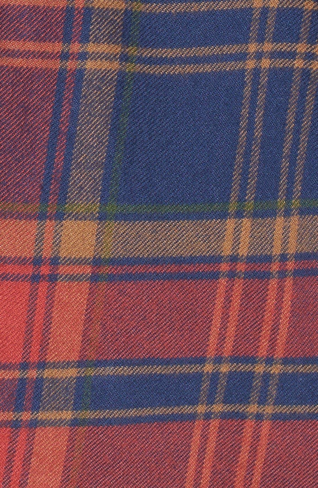 Ex-Boyfriend Shrunken Flannel Boyfriend Shirt,                             Alternate thumbnail 6, color,                             650