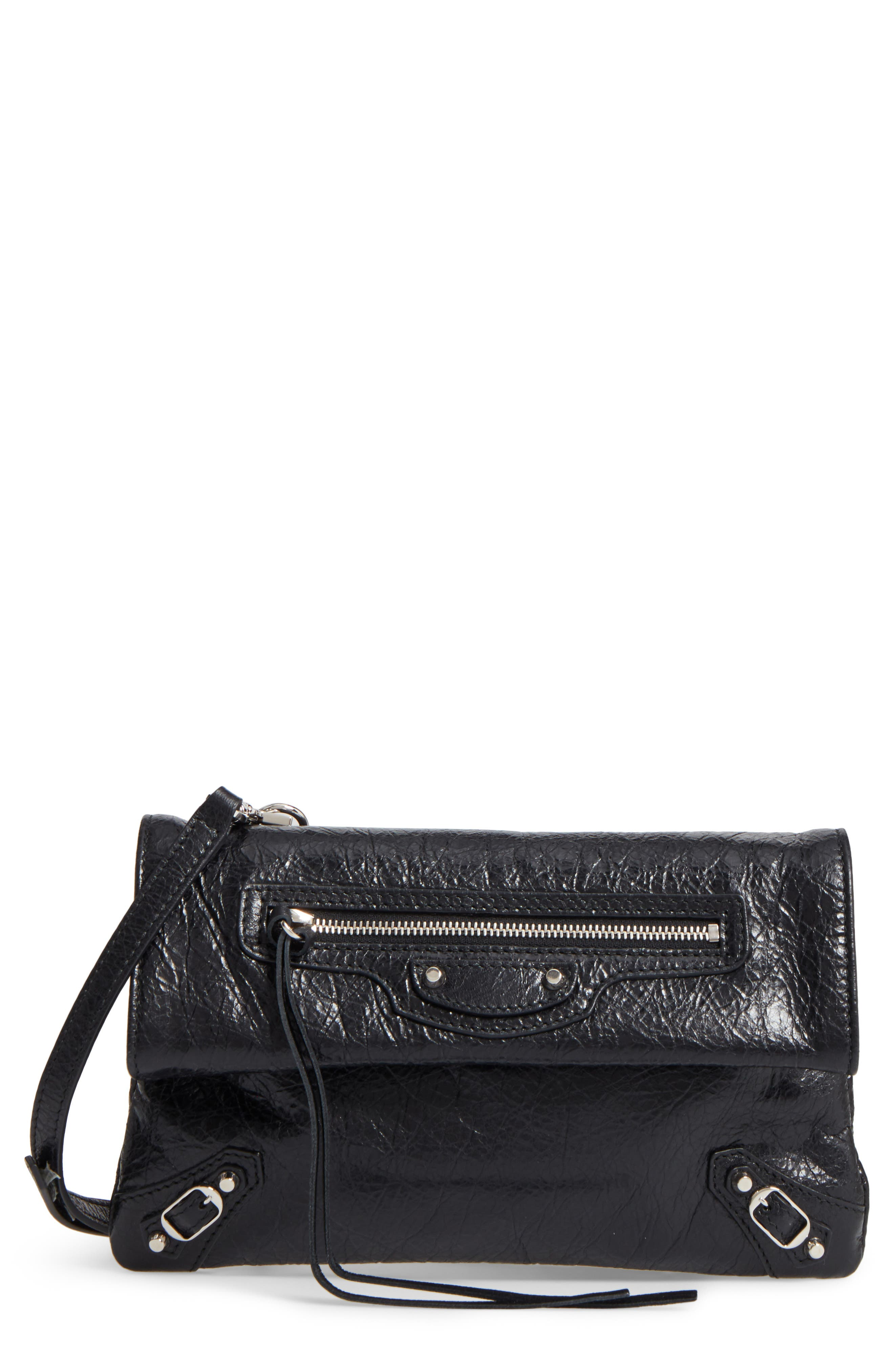Classic Mini Envelope Crossbody Bag,                             Main thumbnail 1, color,                             001