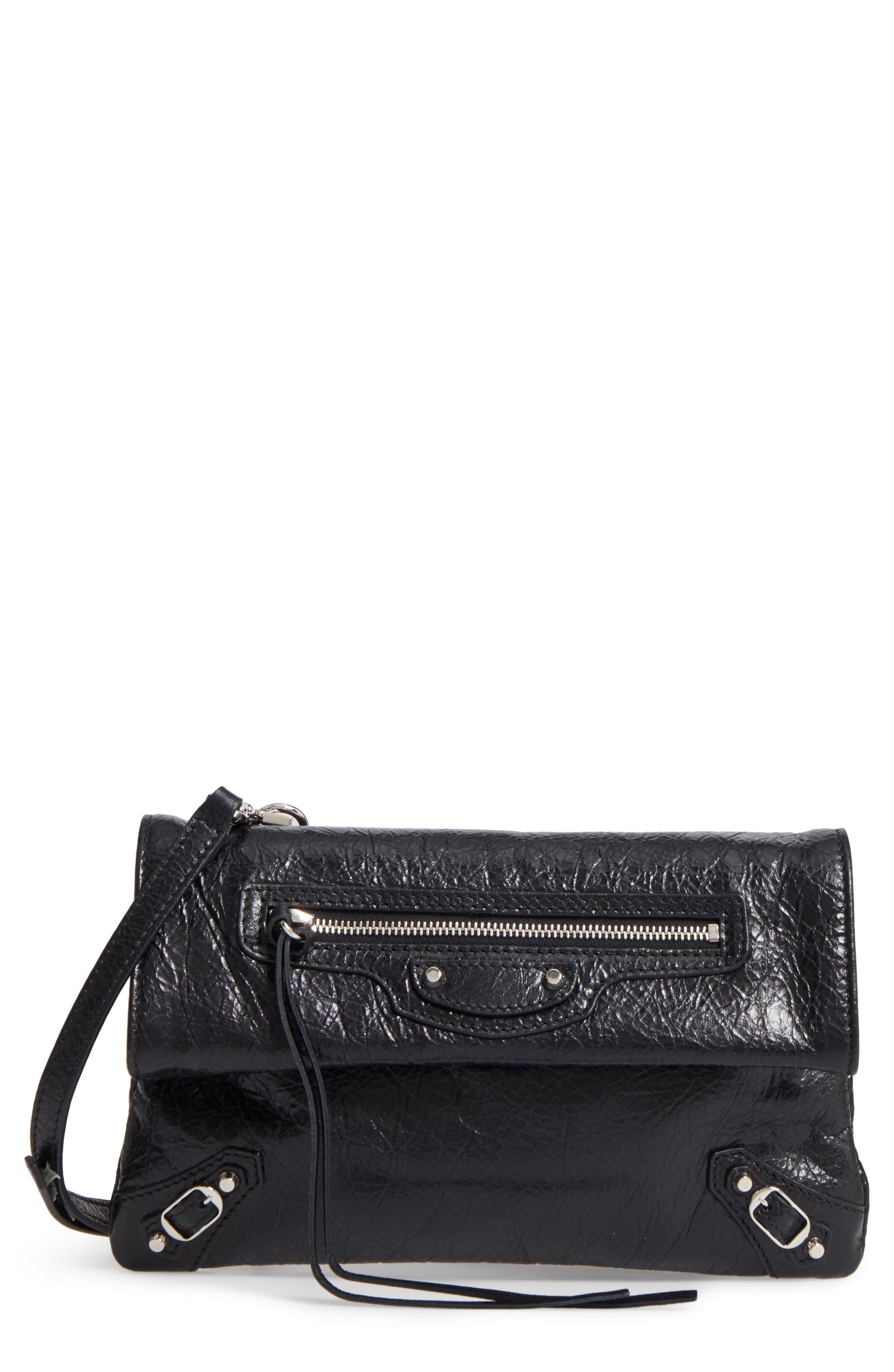 Classic Mini Envelope Crossbody Bag, Main, color, 001