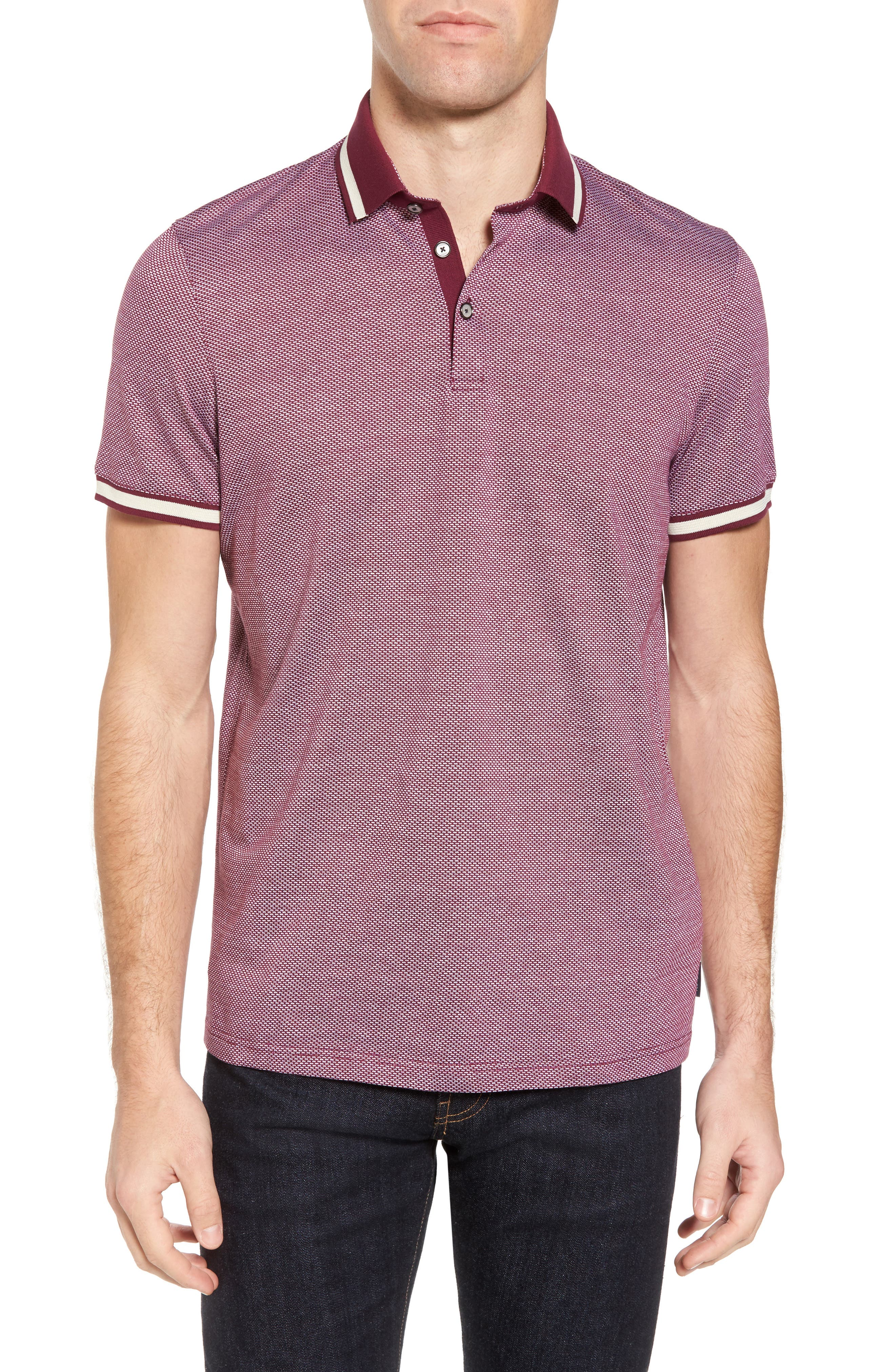 Poodal Stripe Jersey Polo,                             Main thumbnail 3, color,