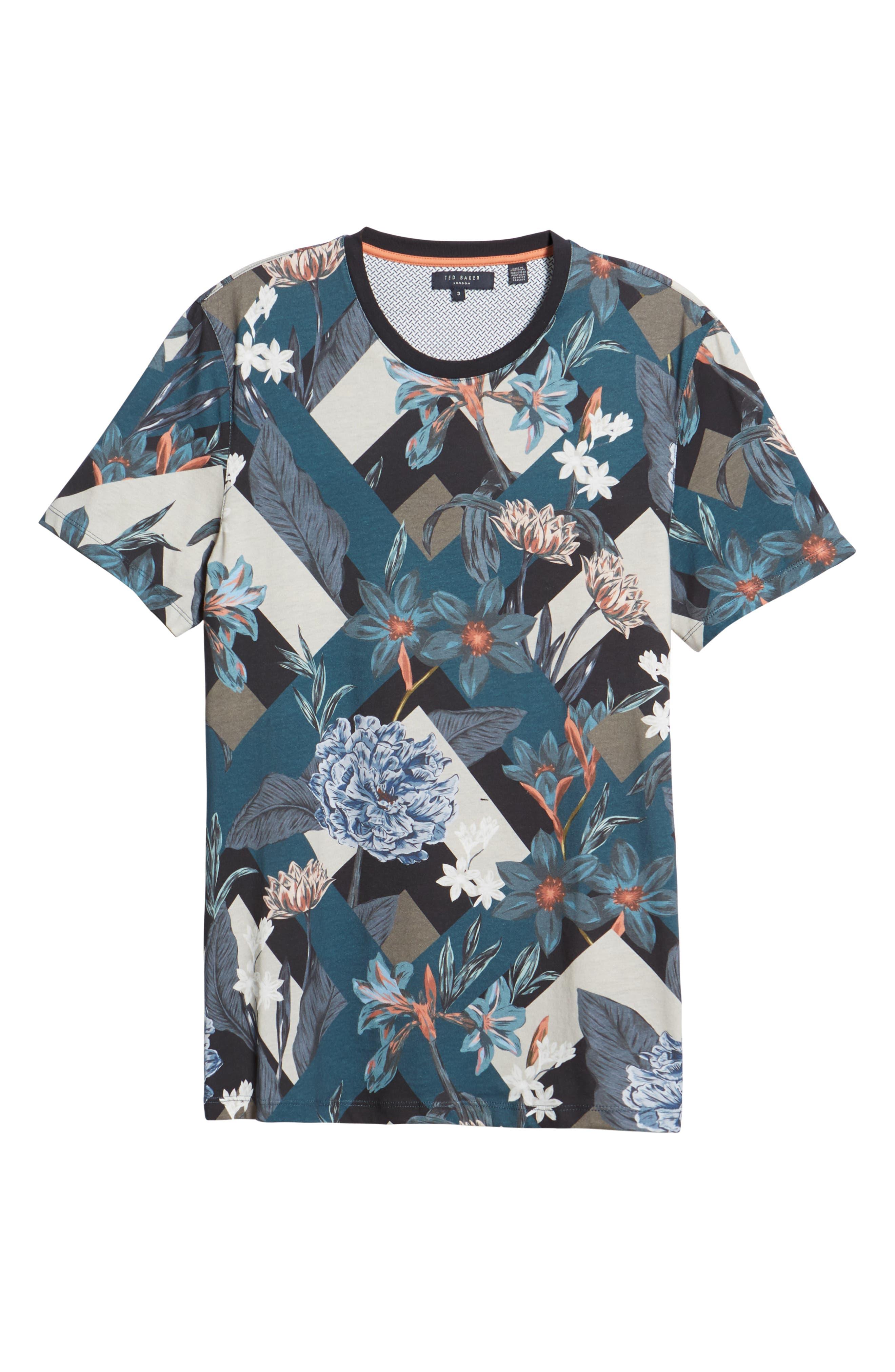 Jolly Slim Fit T-Shirt,                             Alternate thumbnail 6, color,                             NAVY