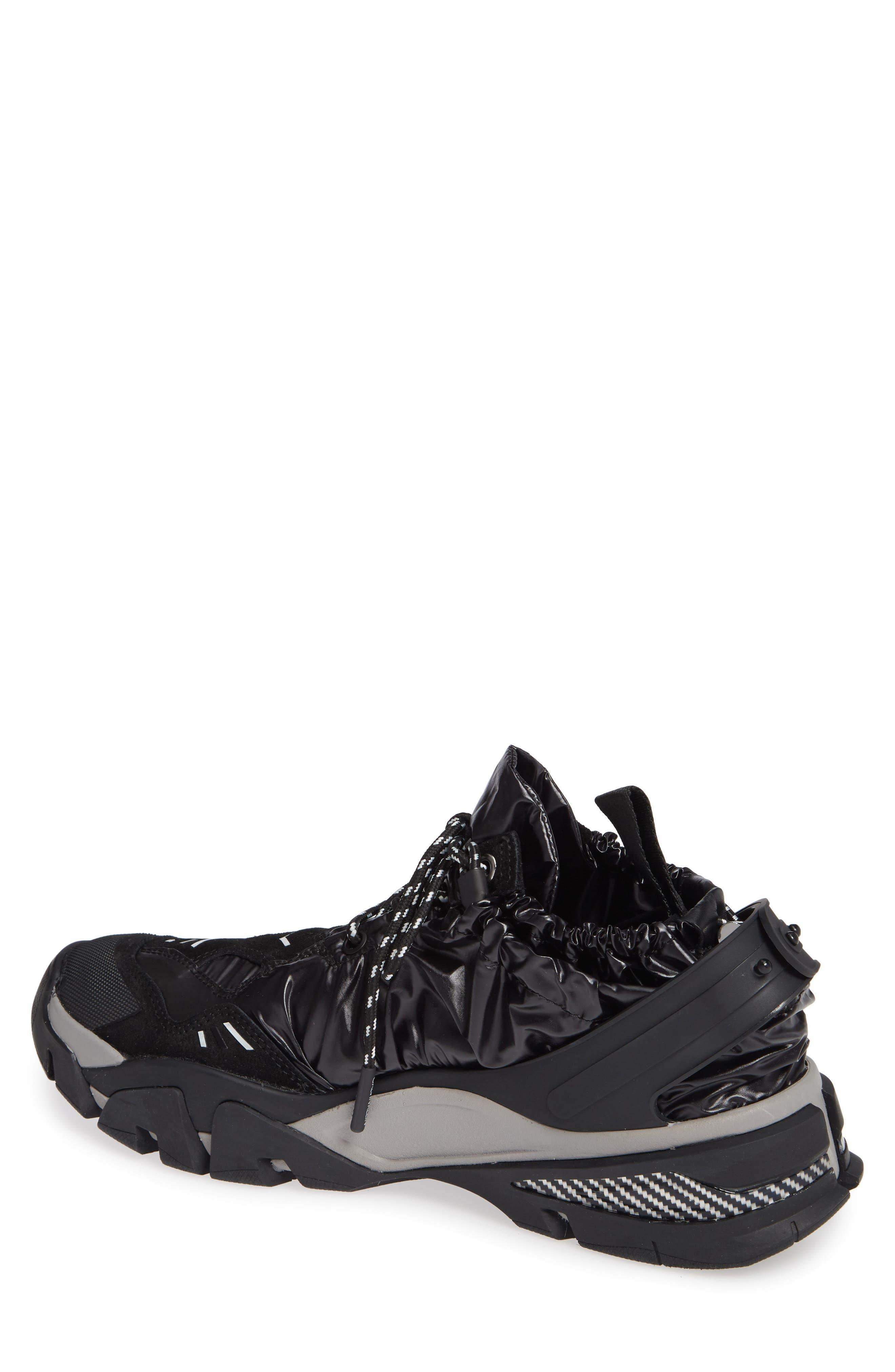 Carsdat 10 Elastic Sneaker,                             Alternate thumbnail 2, color,                             BLACK