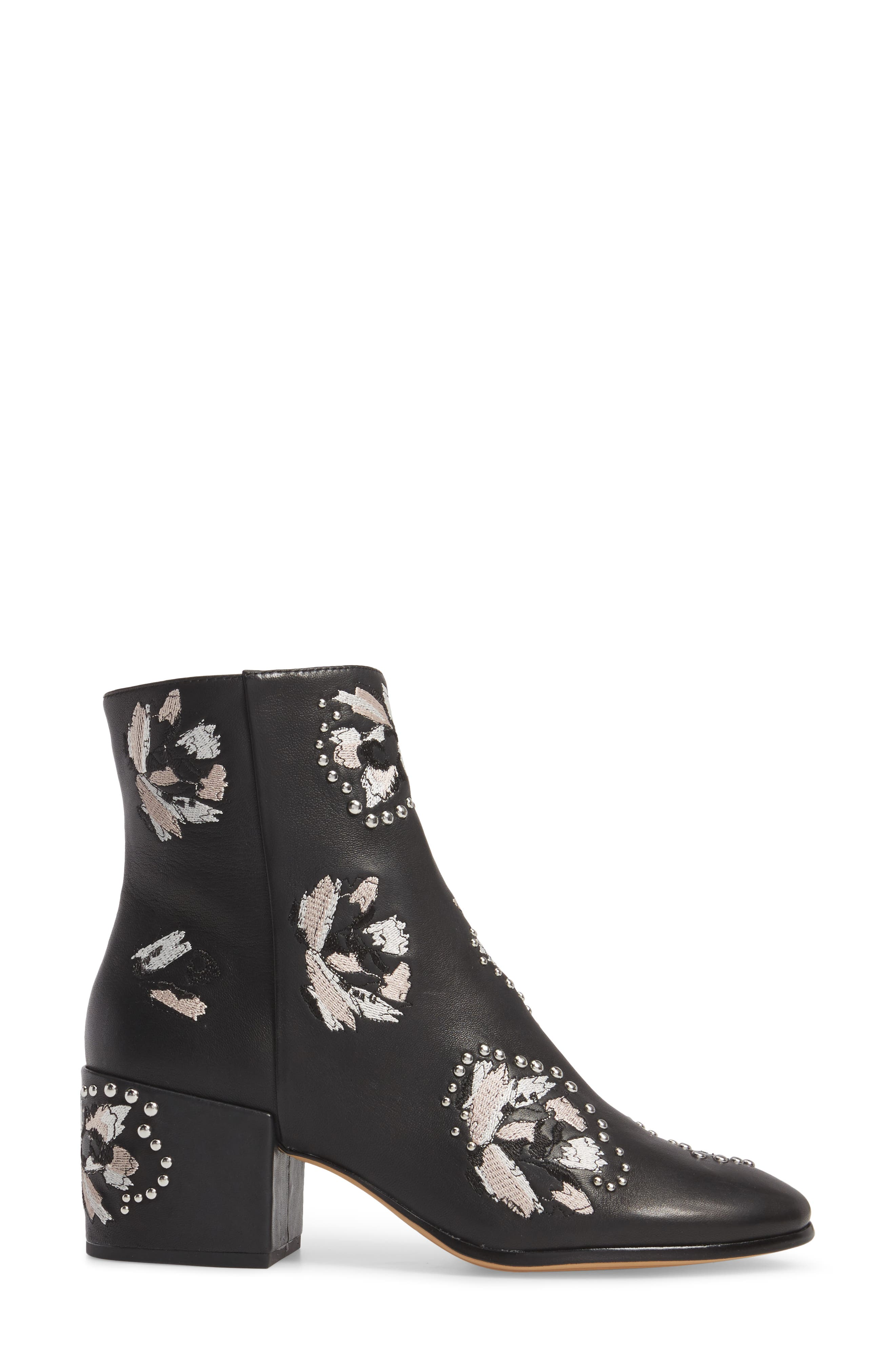 Mollie Embellished Bootie,                             Alternate thumbnail 5, color,
