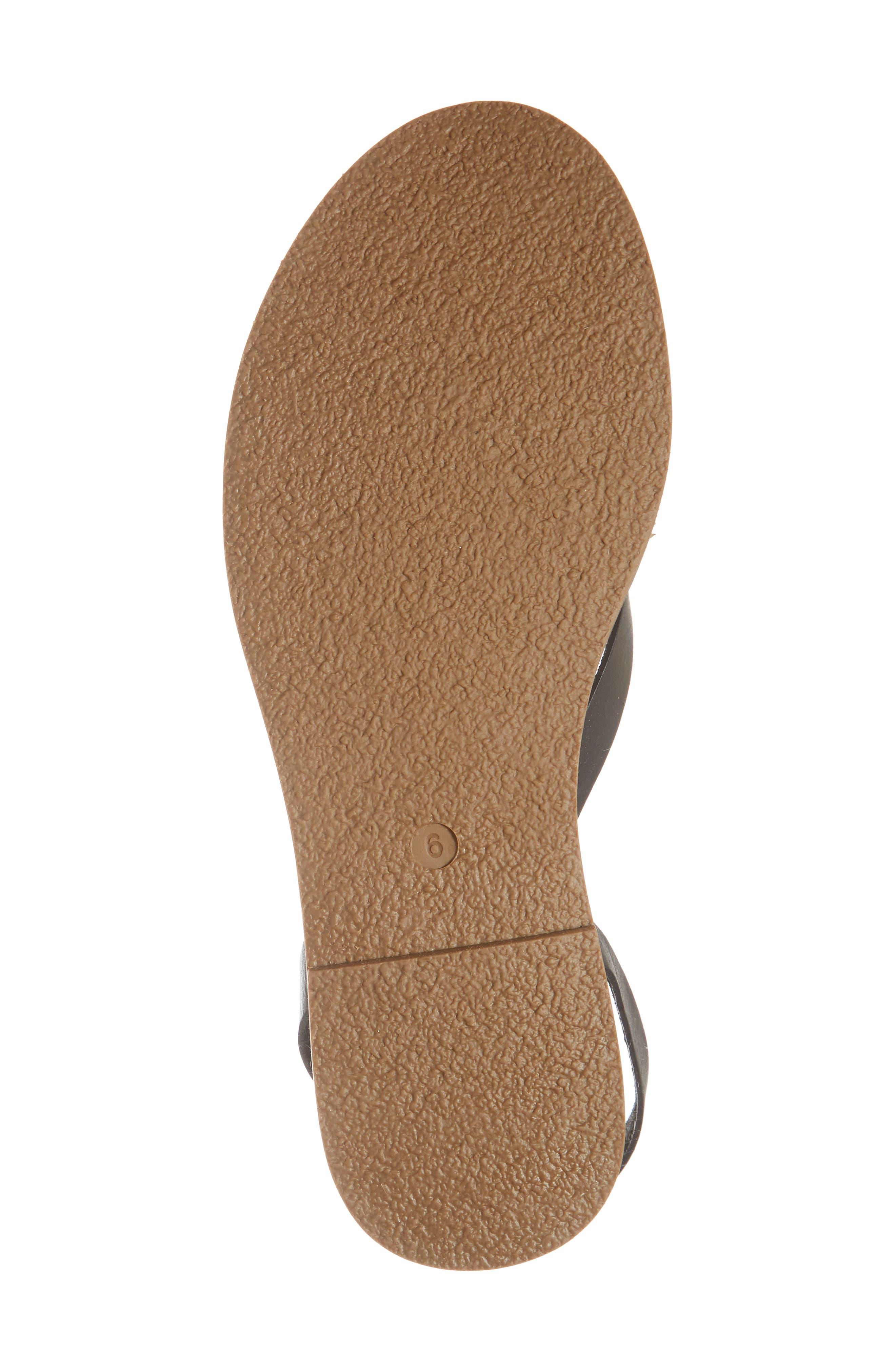 MADEWELL,                             Boardwalk Sandal,                             Alternate thumbnail 6, color,                             001