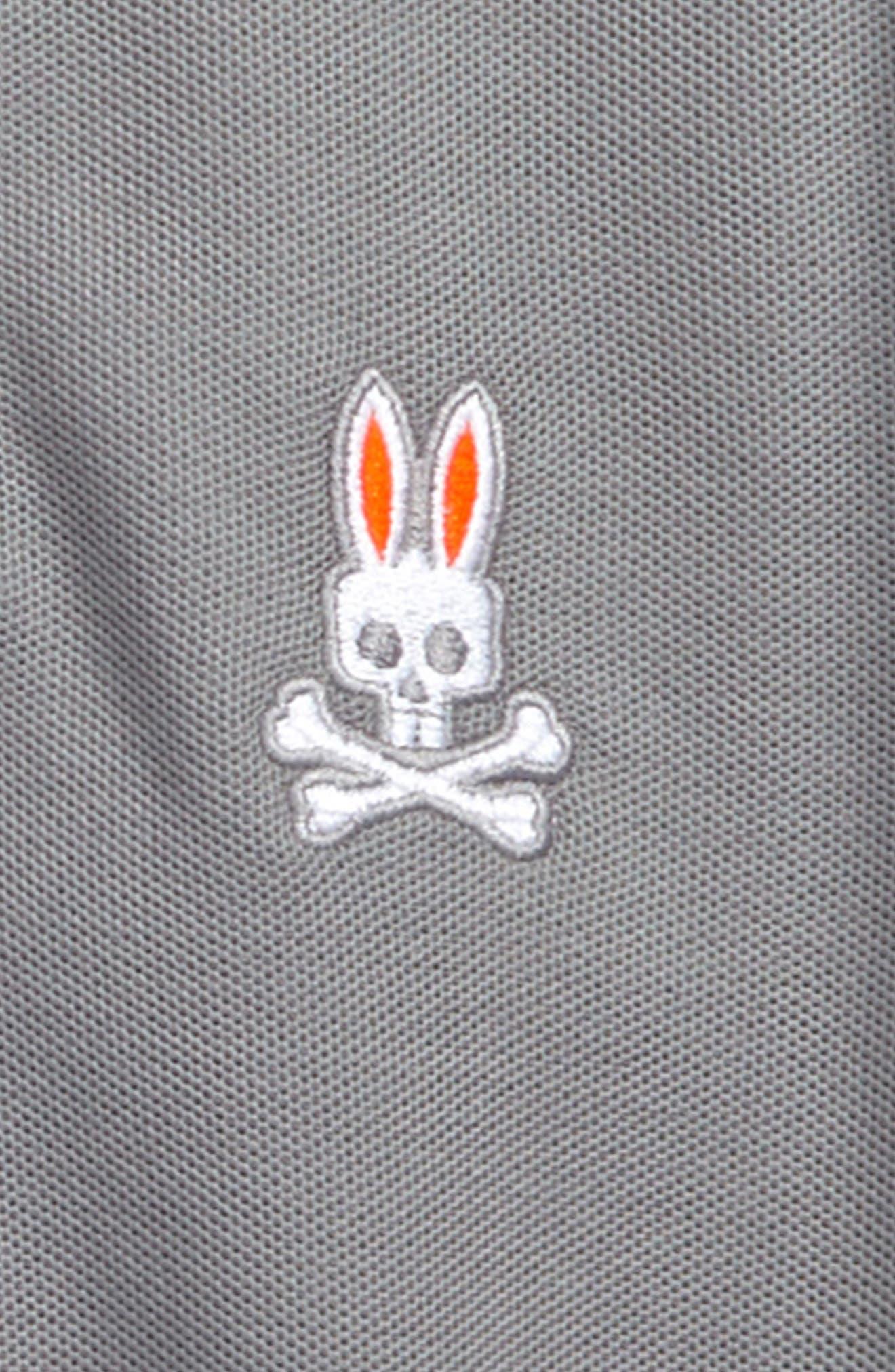 Neon Bunny Cotton Polo,                             Alternate thumbnail 5, color,