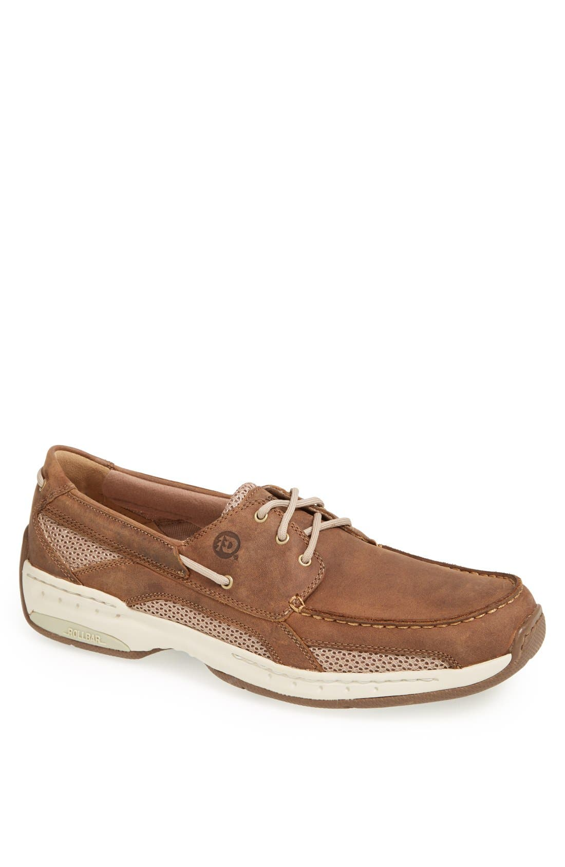 'Captain' Boat Shoe,                         Main,                         color, TAN