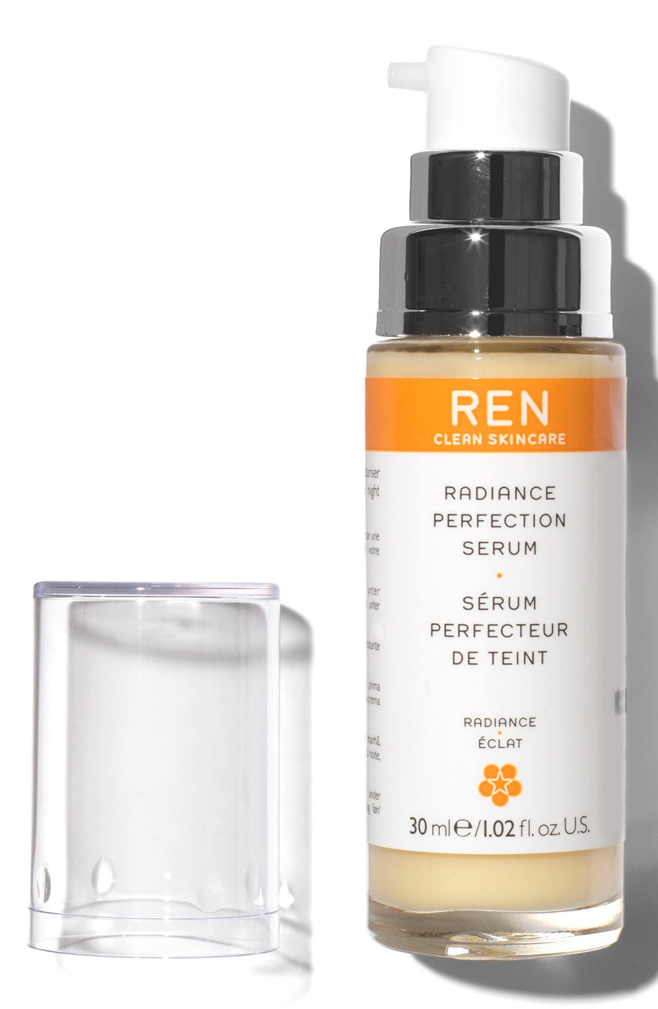 SPACE.NK.apothecary REN Radiance Perfection Serum,                             Alternate thumbnail 3, color,                             NO COLOR