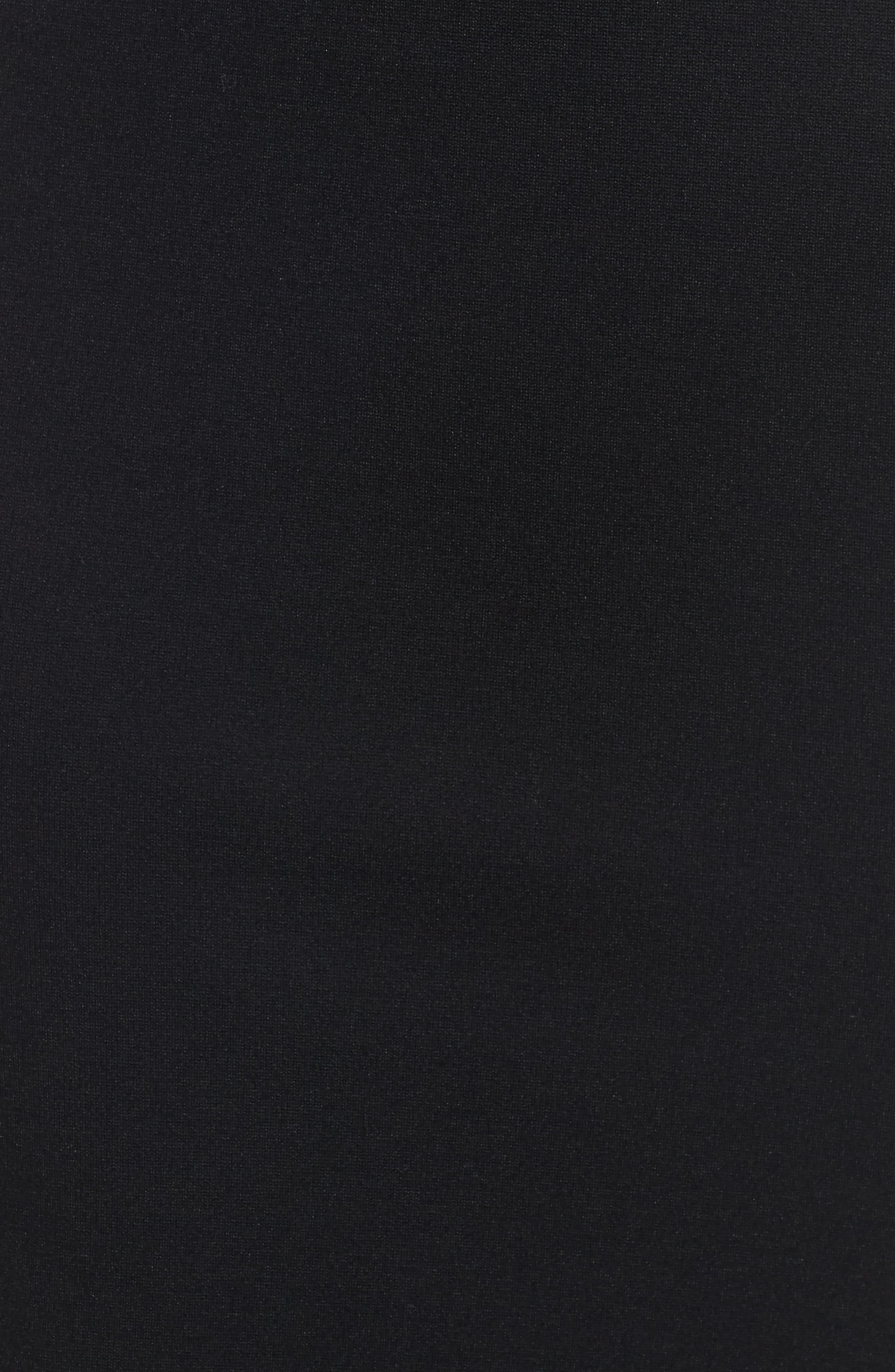 Corset Detail Body-Con Dress,                             Alternate thumbnail 5, color,                             001