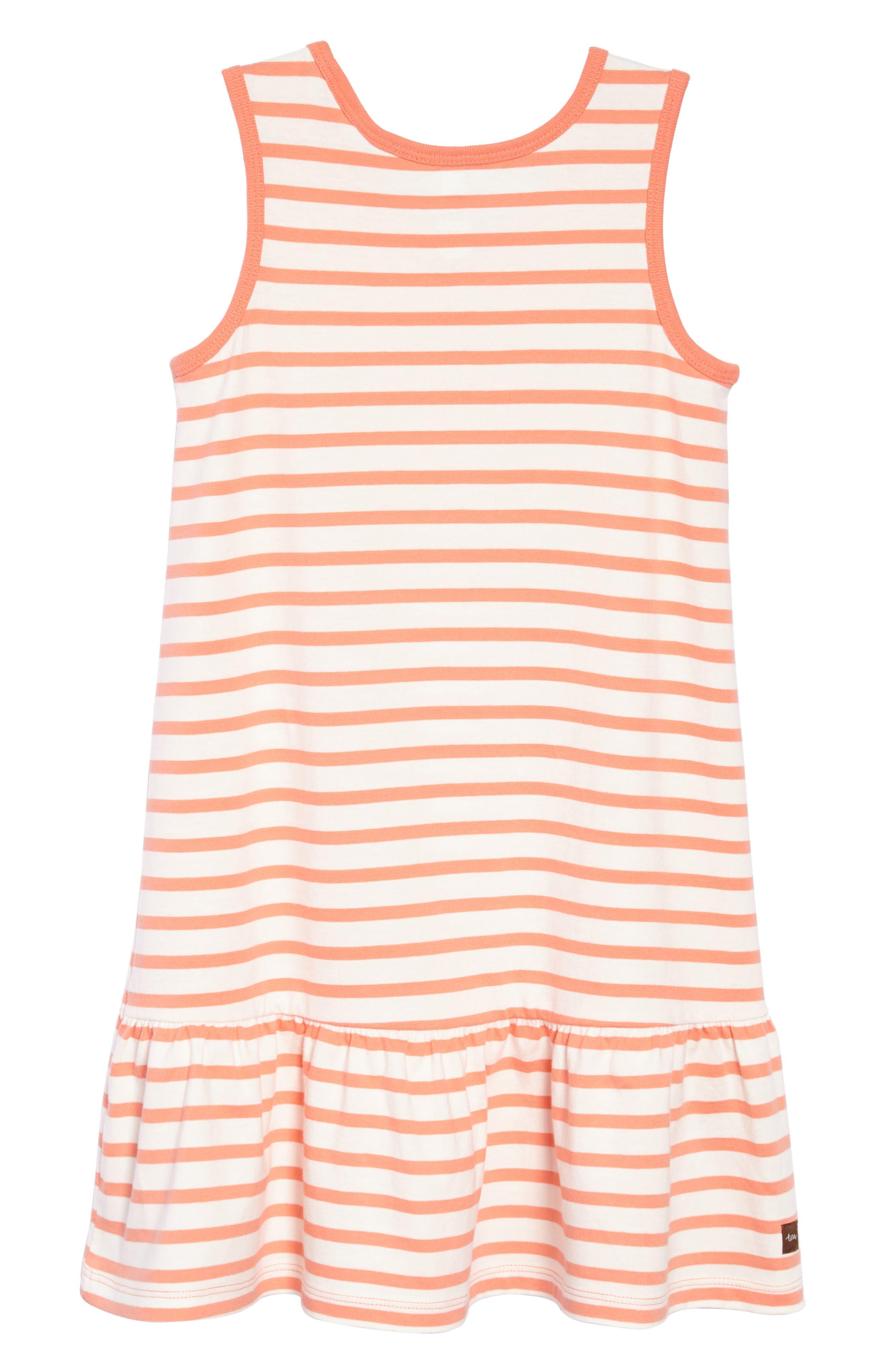 Stripe Tank Dress,                             Alternate thumbnail 6, color,