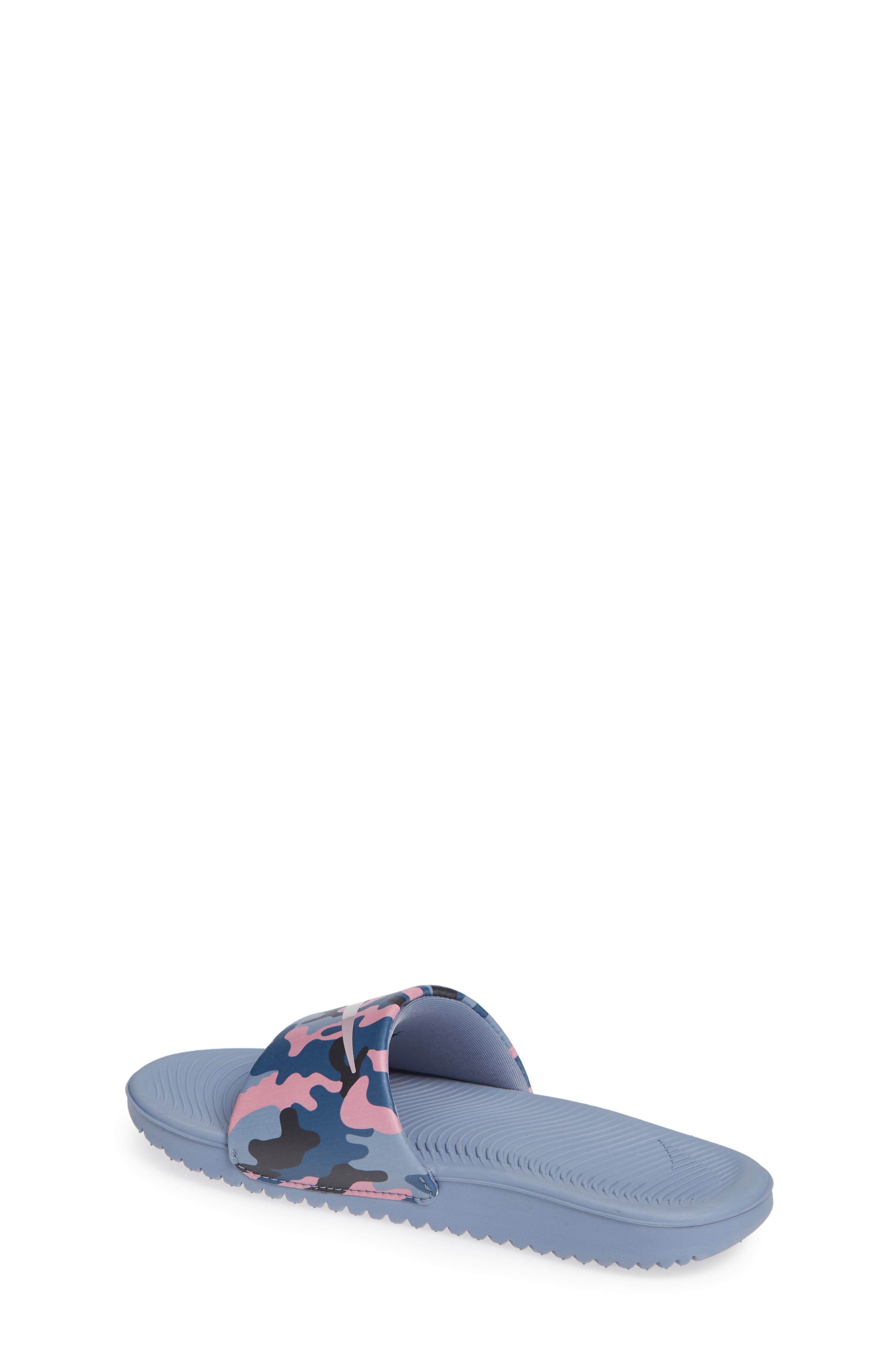 Kawa Slide Sandal,                             Alternate thumbnail 2, color,                             SLATE/ ROSE/ DIFFUSED BLUE