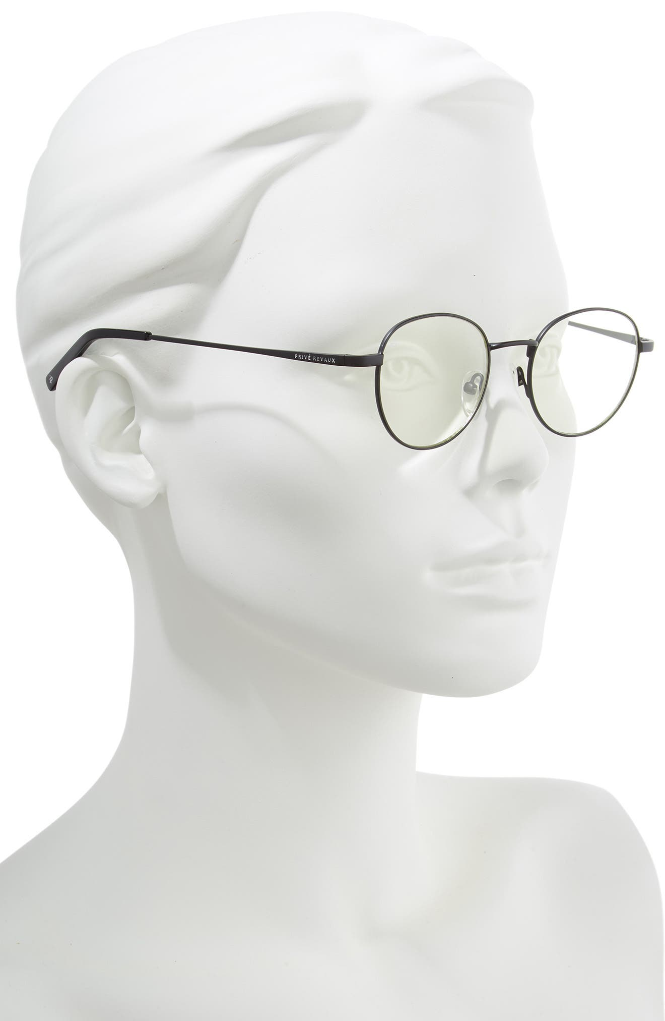 Privé Revaux The Machiavelli 45mm Blue Light Blocking Glasses,                             Alternate thumbnail 2, color,                             001
