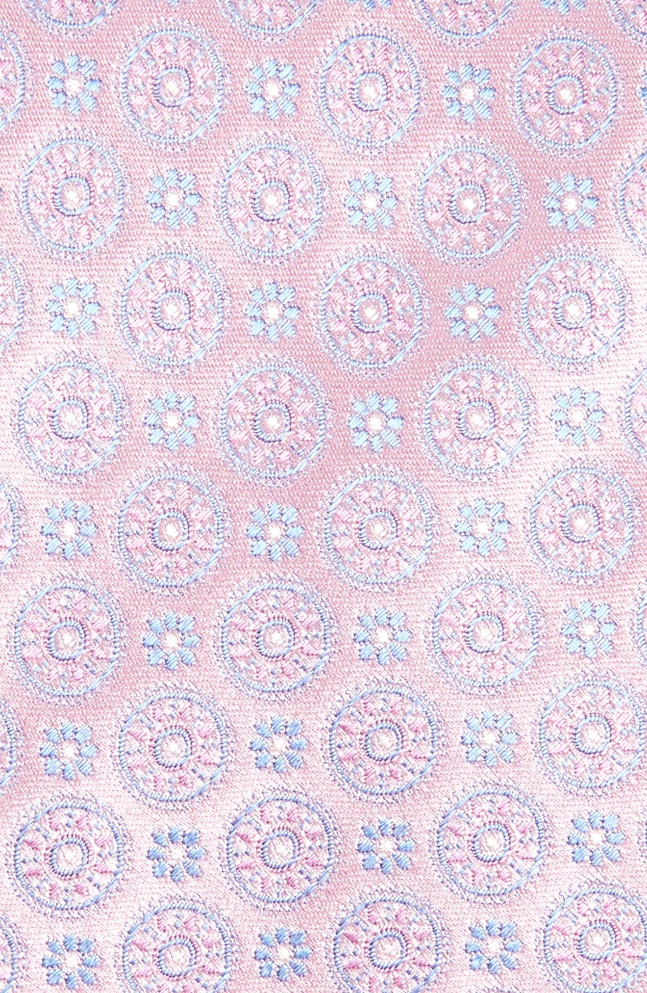 CANALI,                             Geometric Silk Tie,                             Alternate thumbnail 2, color,                             650