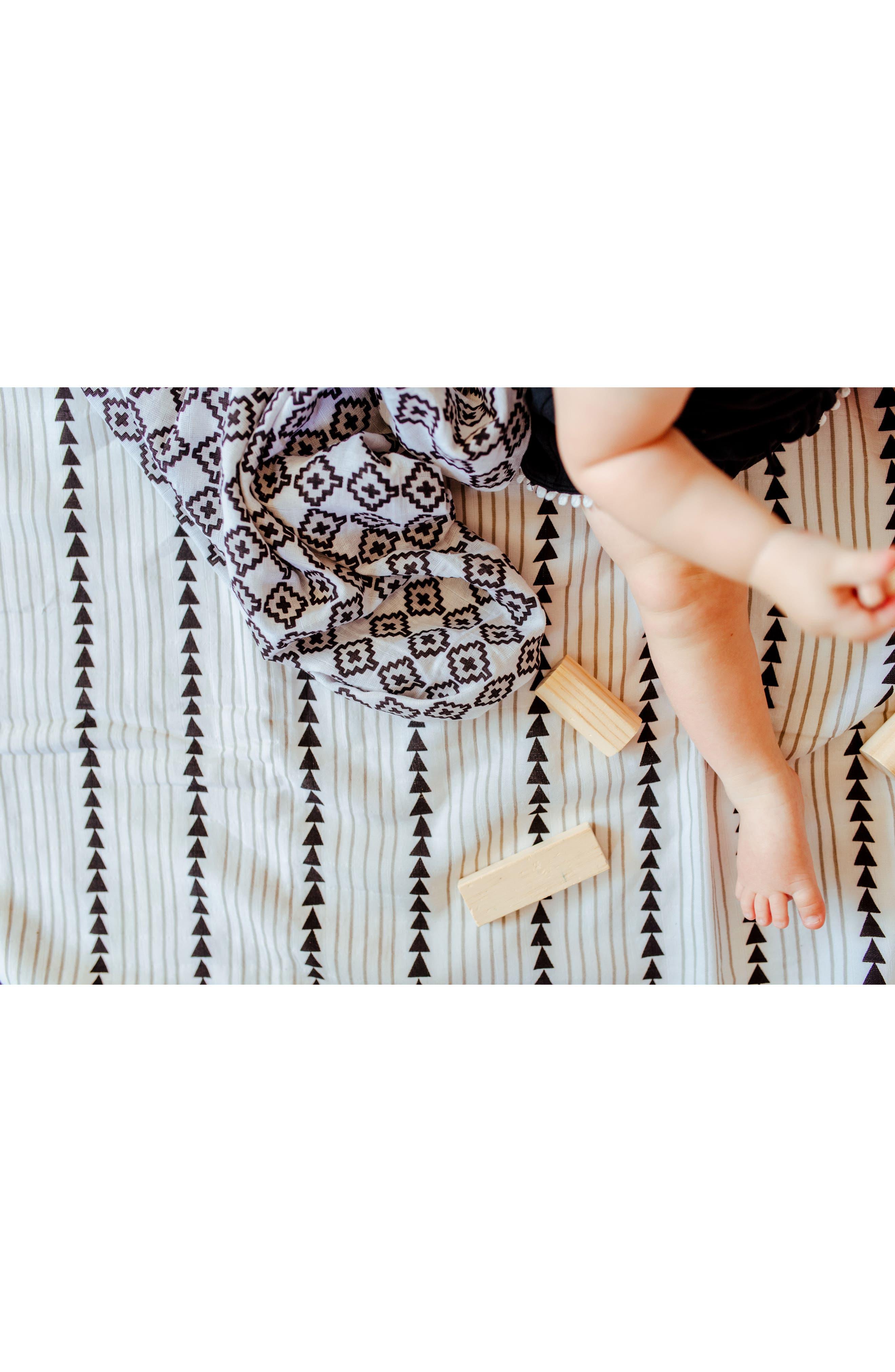 Mia Organic Cotton Blanket,                             Alternate thumbnail 4, color,