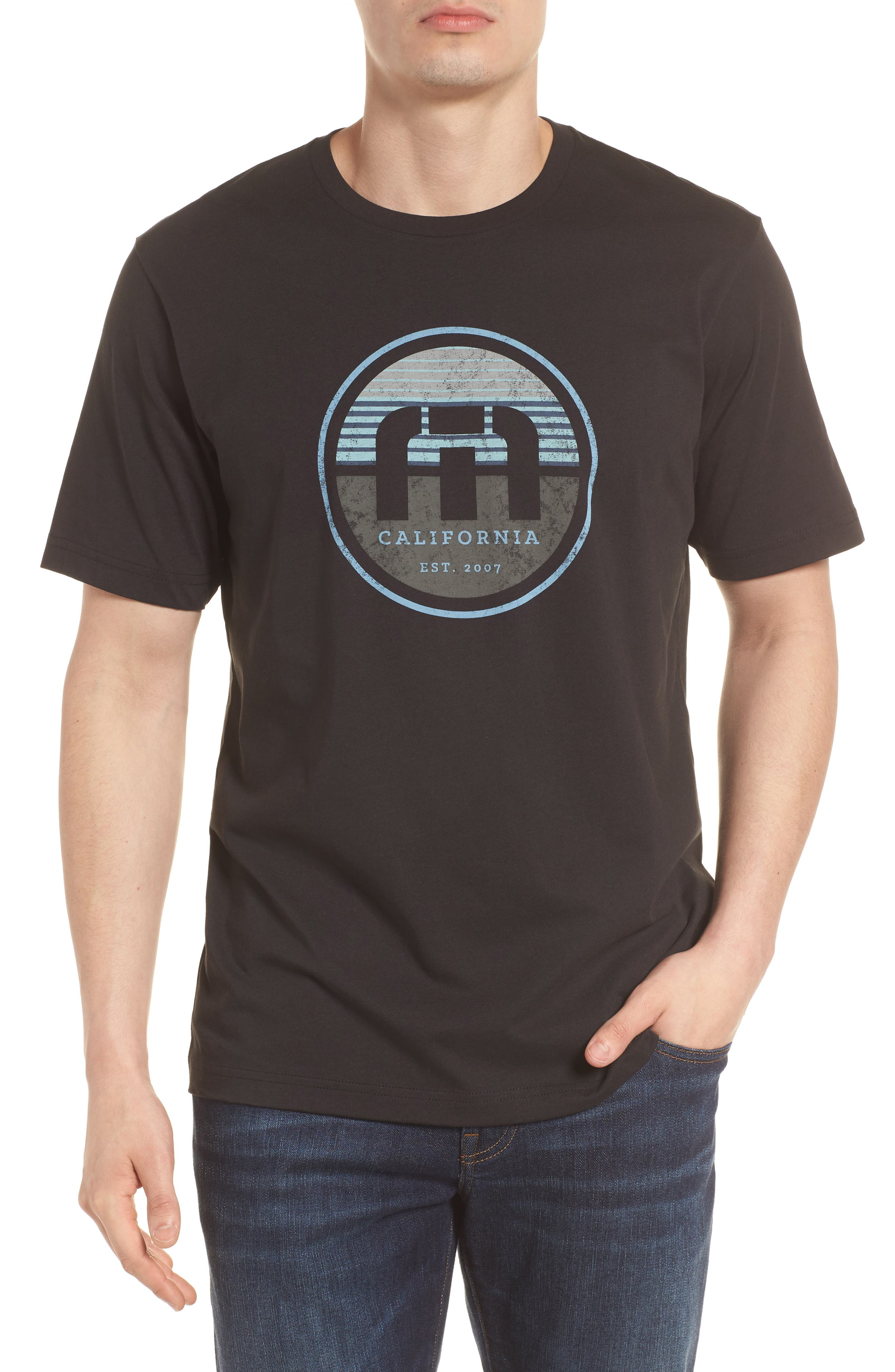 B-Stern Graphic T-Shirt,                             Main thumbnail 1, color,                             001