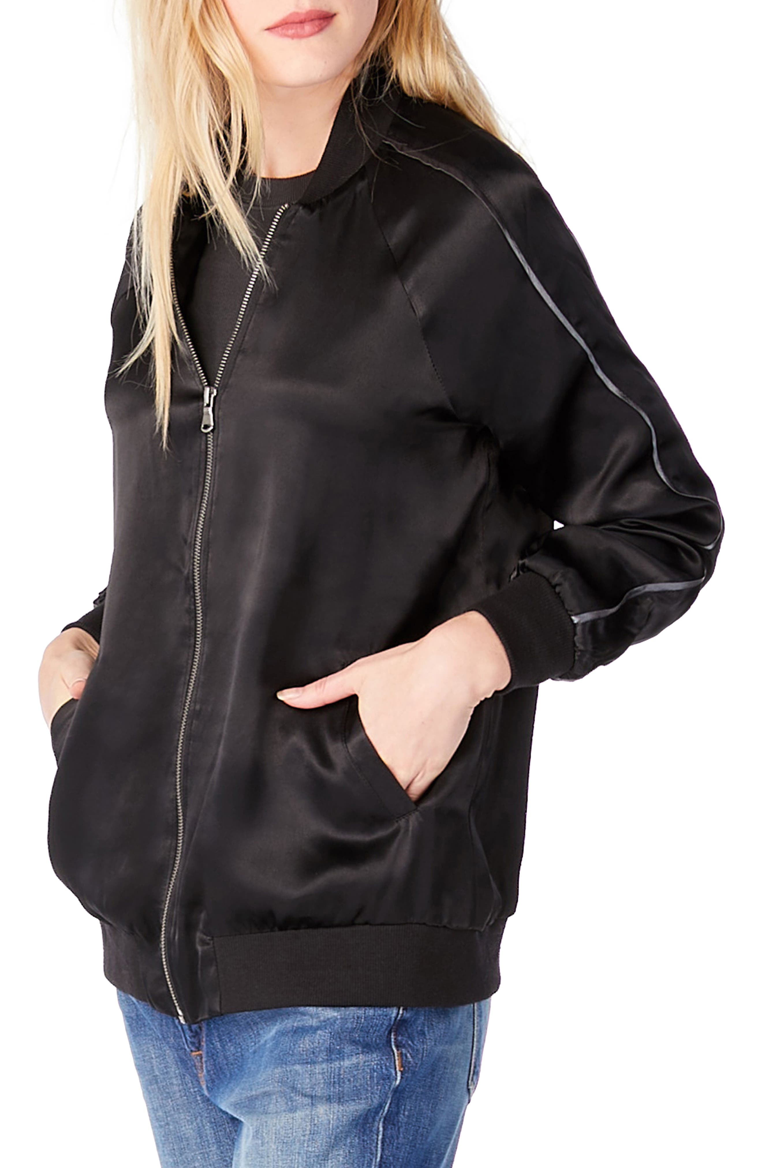 Bomber Jacket,                             Alternate thumbnail 3, color,                             001