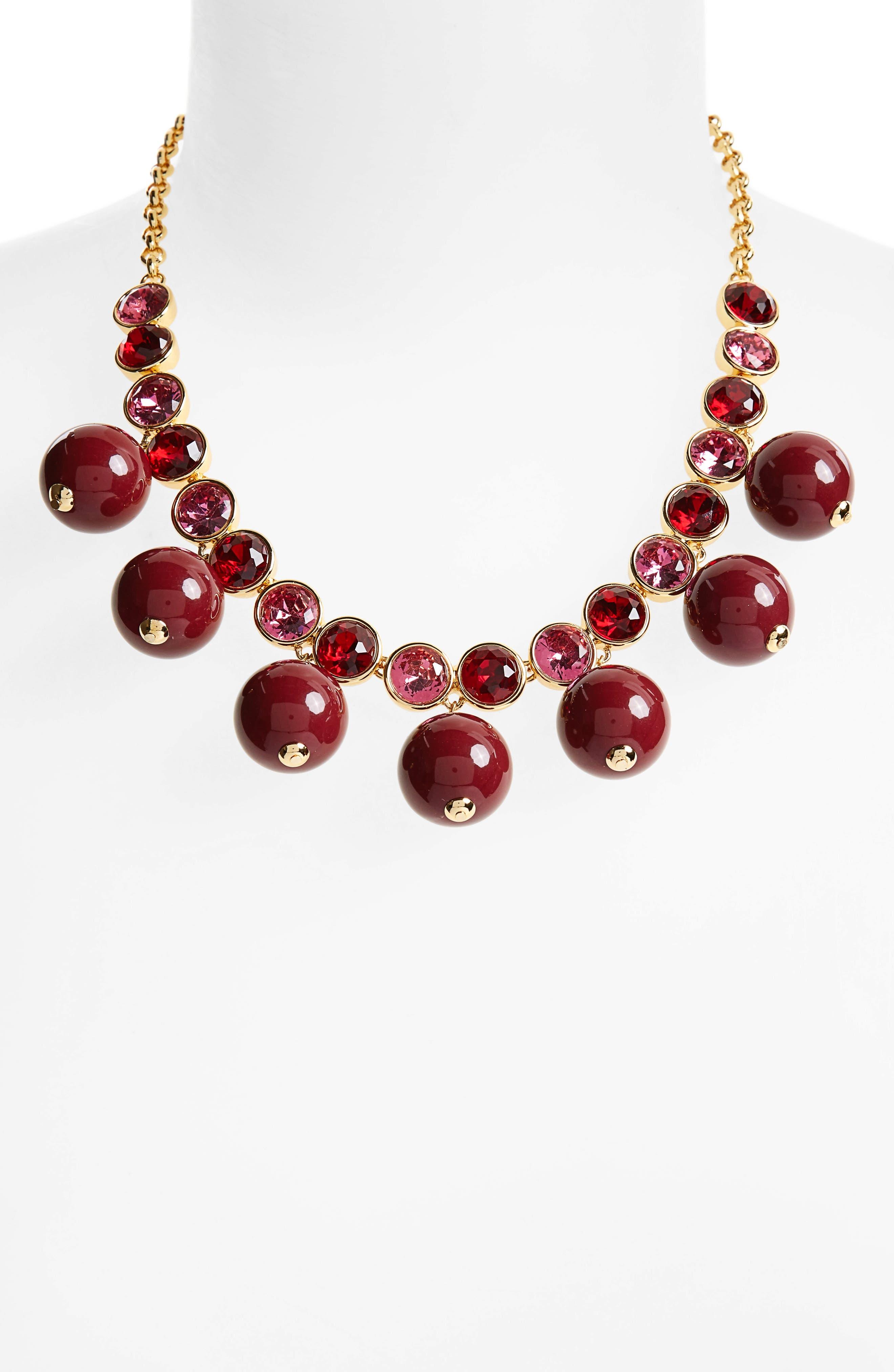 true colors bauble necklace,                             Alternate thumbnail 8, color,