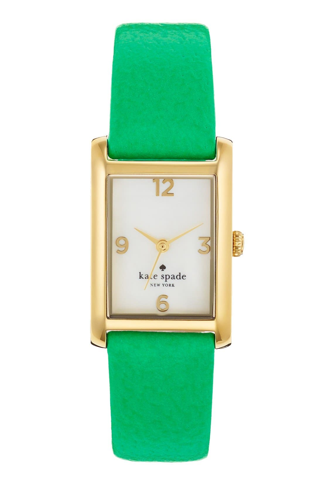 'cooper' leather strap watch, 21mm x 32mm,                             Main thumbnail 7, color,