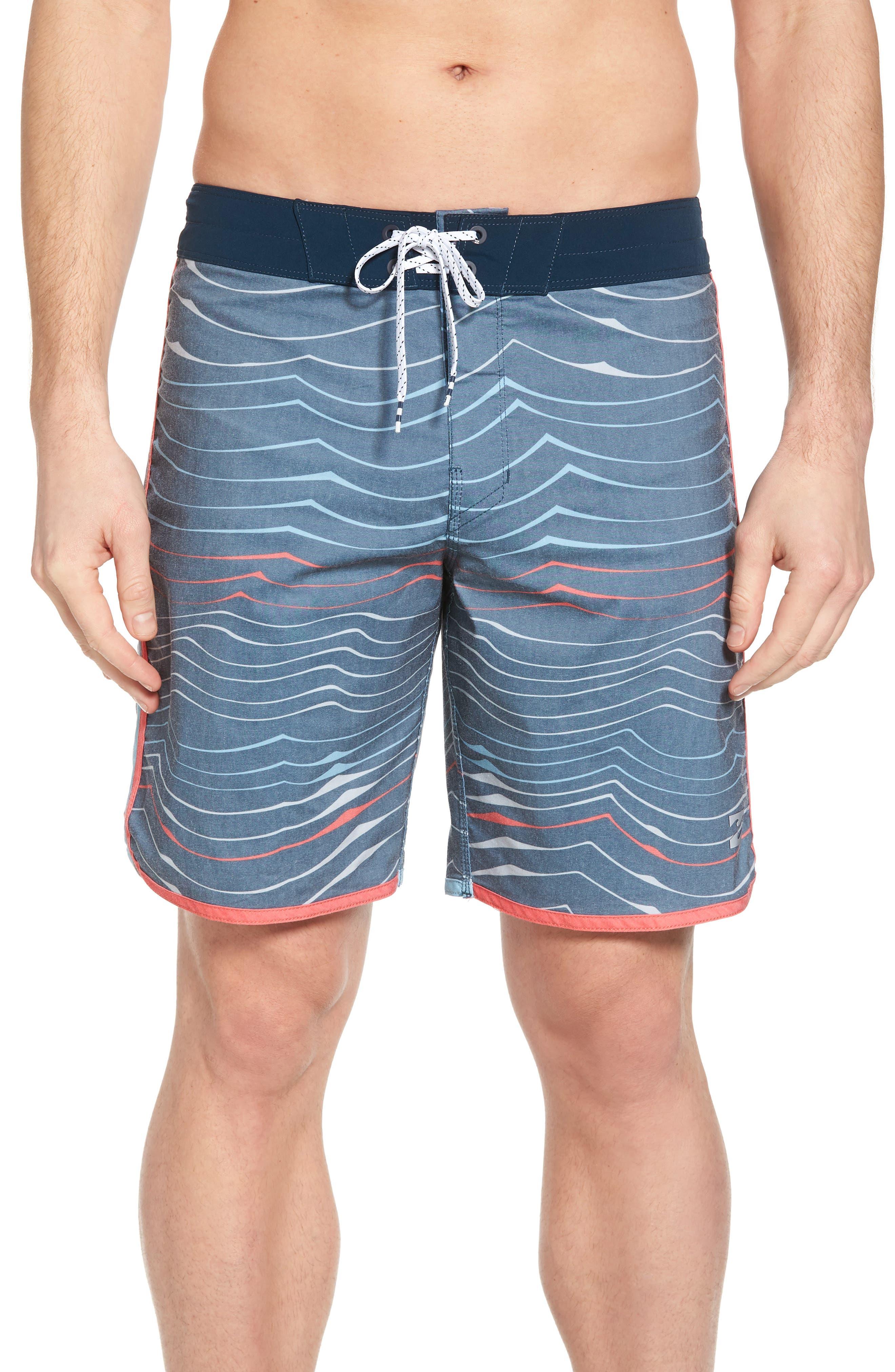 BILLABONG,                             73 X Lineup Board Shorts,                             Main thumbnail 1, color,                             415