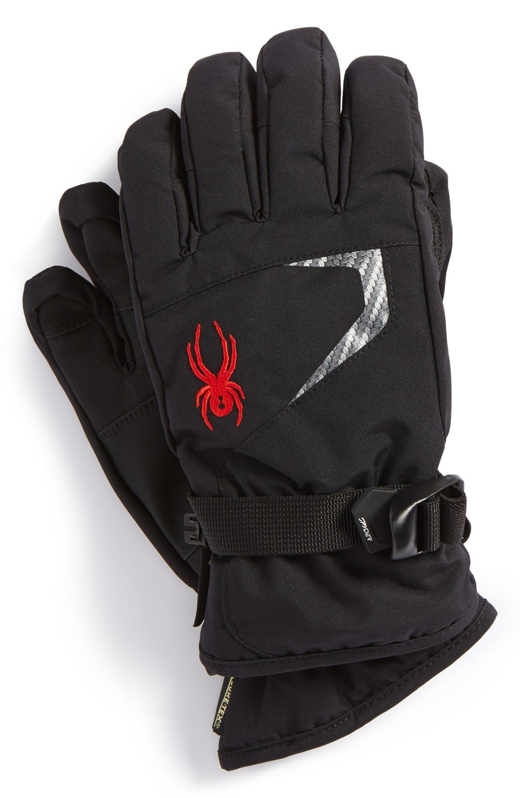 Spyder  Traverse  Gore-Tex® Waterproof 3M™ Thinsulate™ Ski Gloves (Big  Boys)  11a37ce91