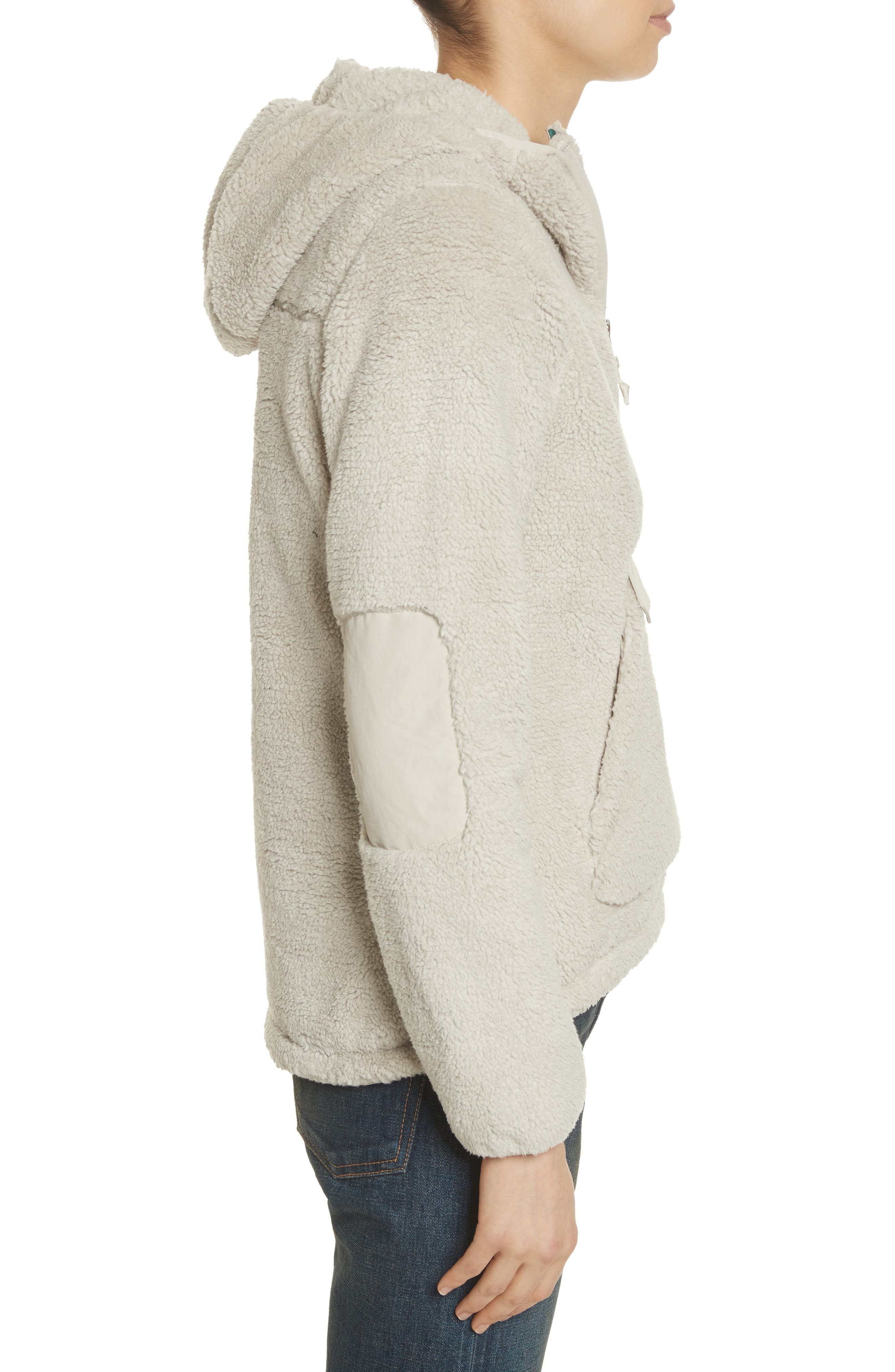 Campshire High Pile Fleece Pullover Hoodie,                             Alternate thumbnail 6, color,