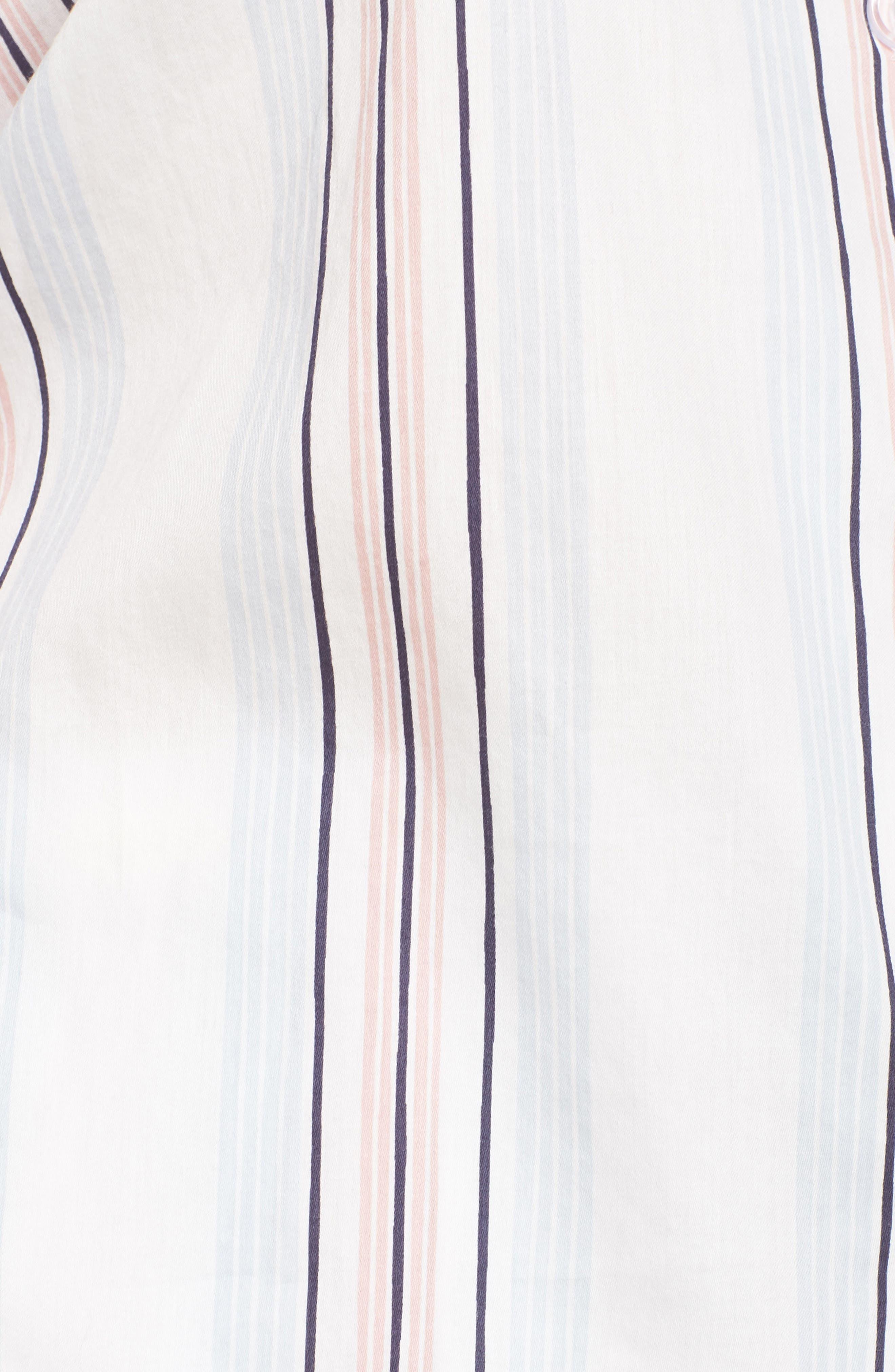 Candy Stripe Short Pajamas,                             Alternate thumbnail 5, color,                             110
