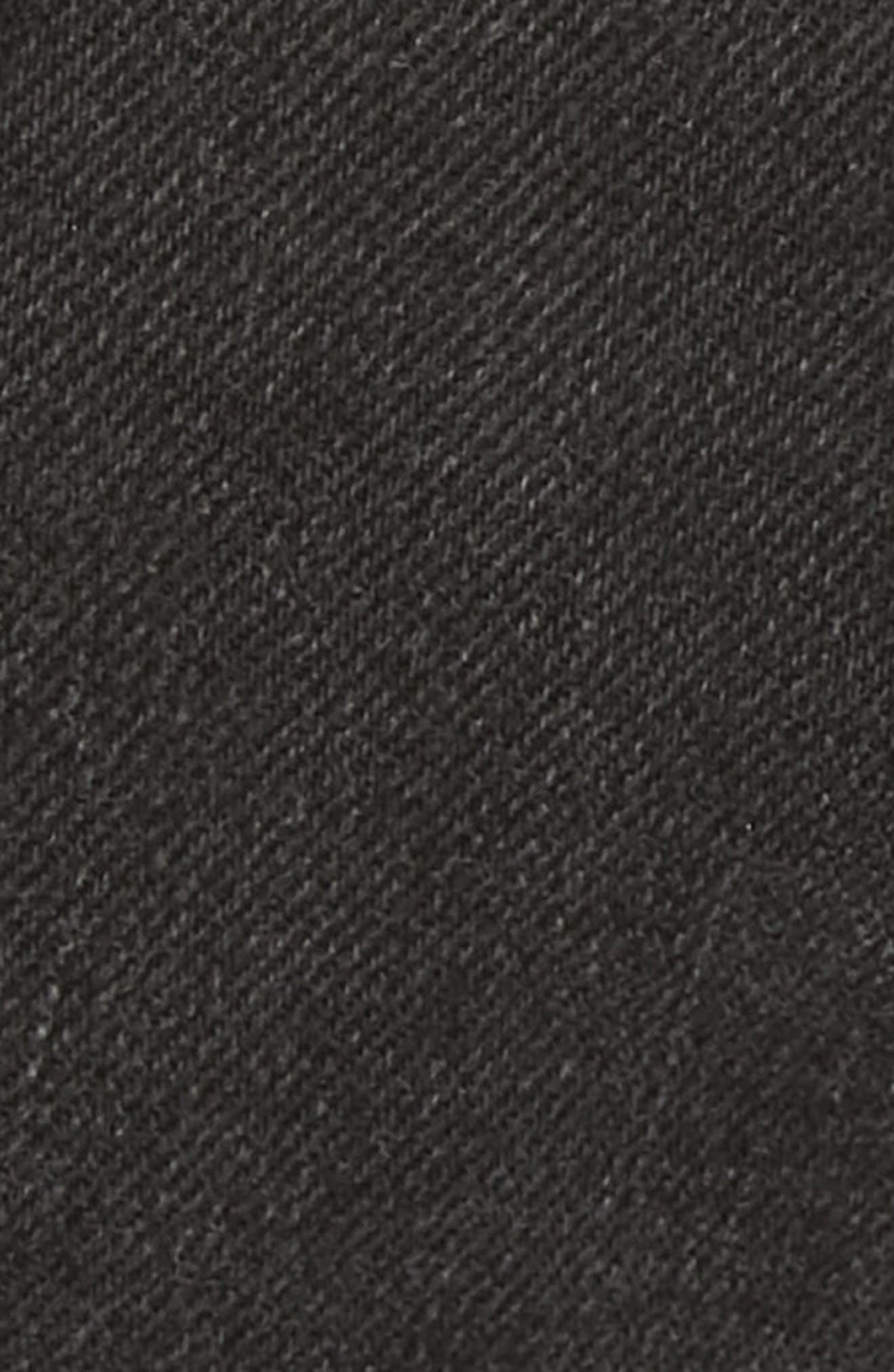 Eden Denim Shorts,                             Alternate thumbnail 5, color,                             KURO STONE