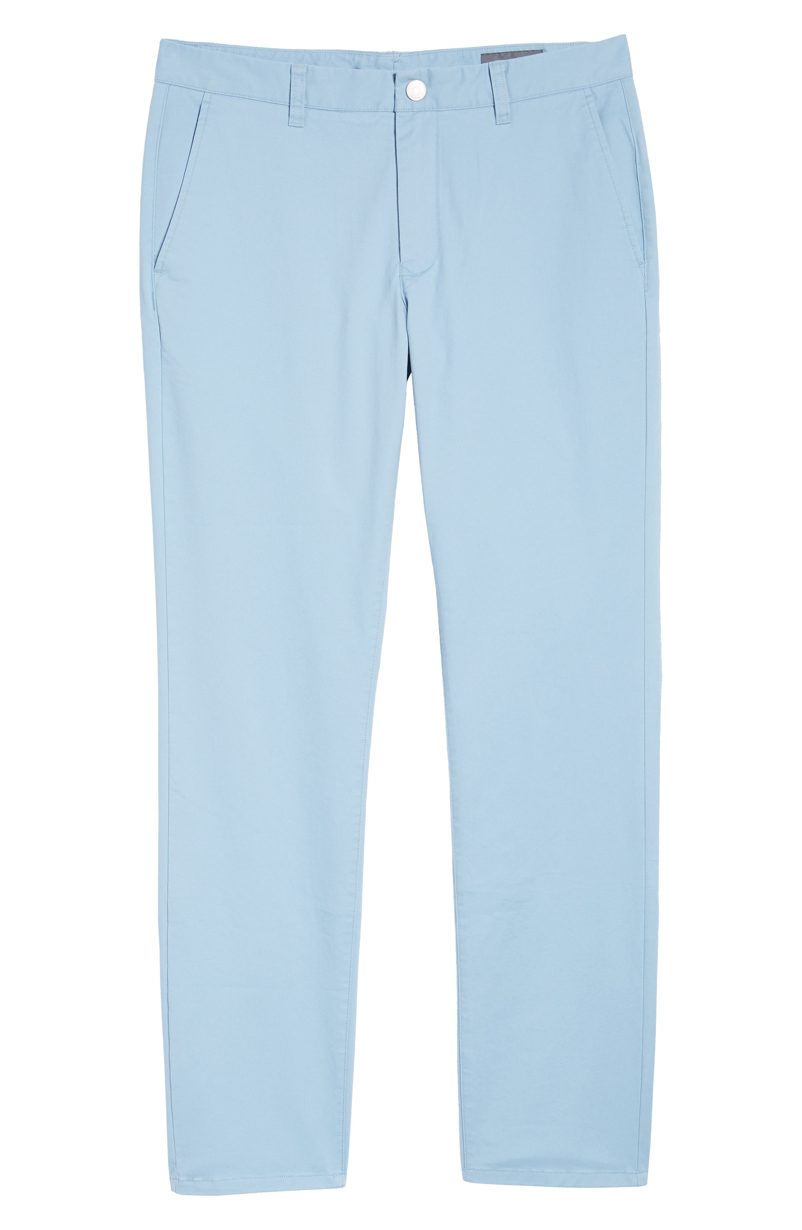 Tailored Fit Washed Stretch Cotton Chinos,                             Alternate thumbnail 184, color,