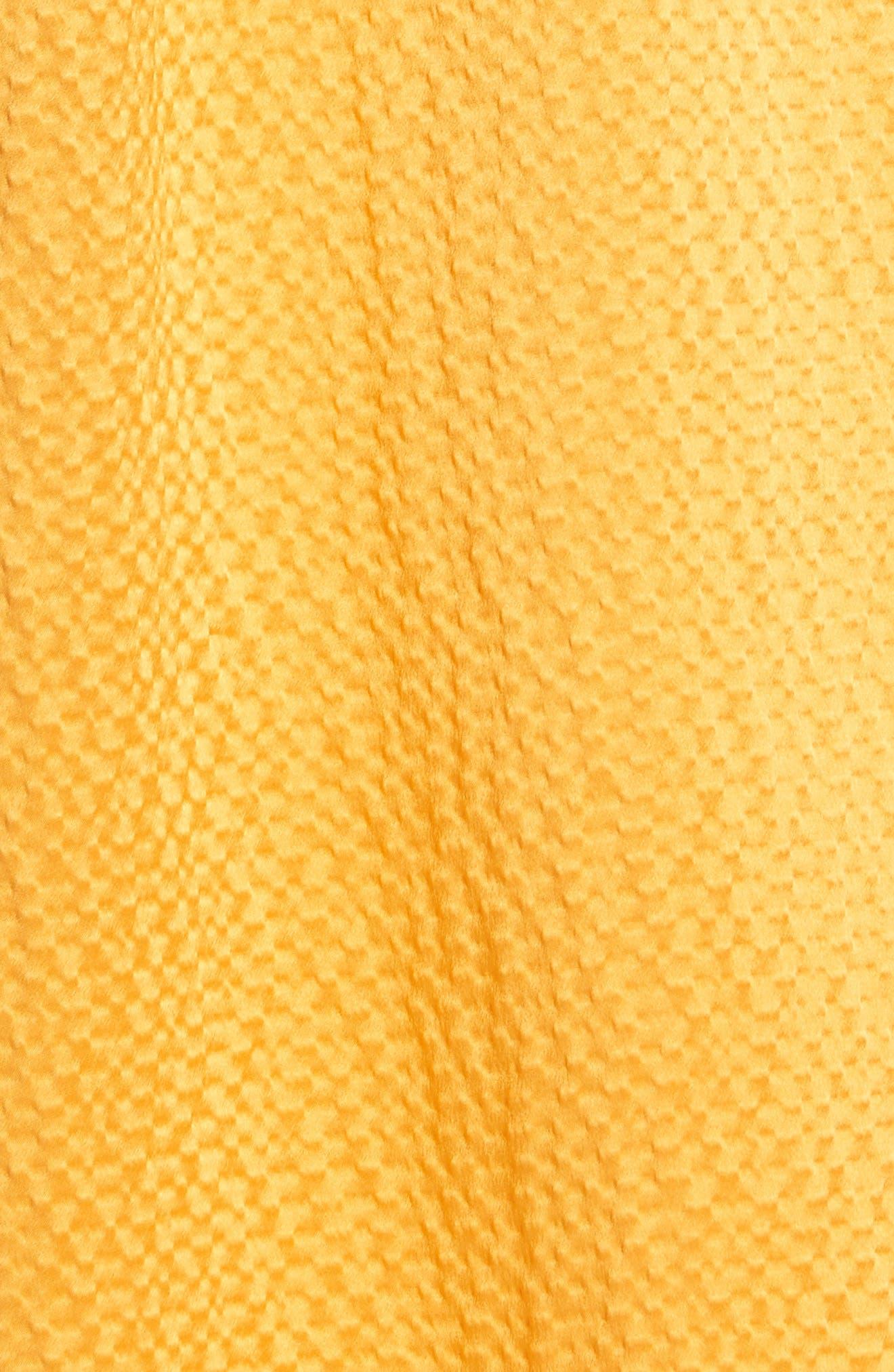 Tonic Silk Midi Dress,                             Alternate thumbnail 5, color,                             850