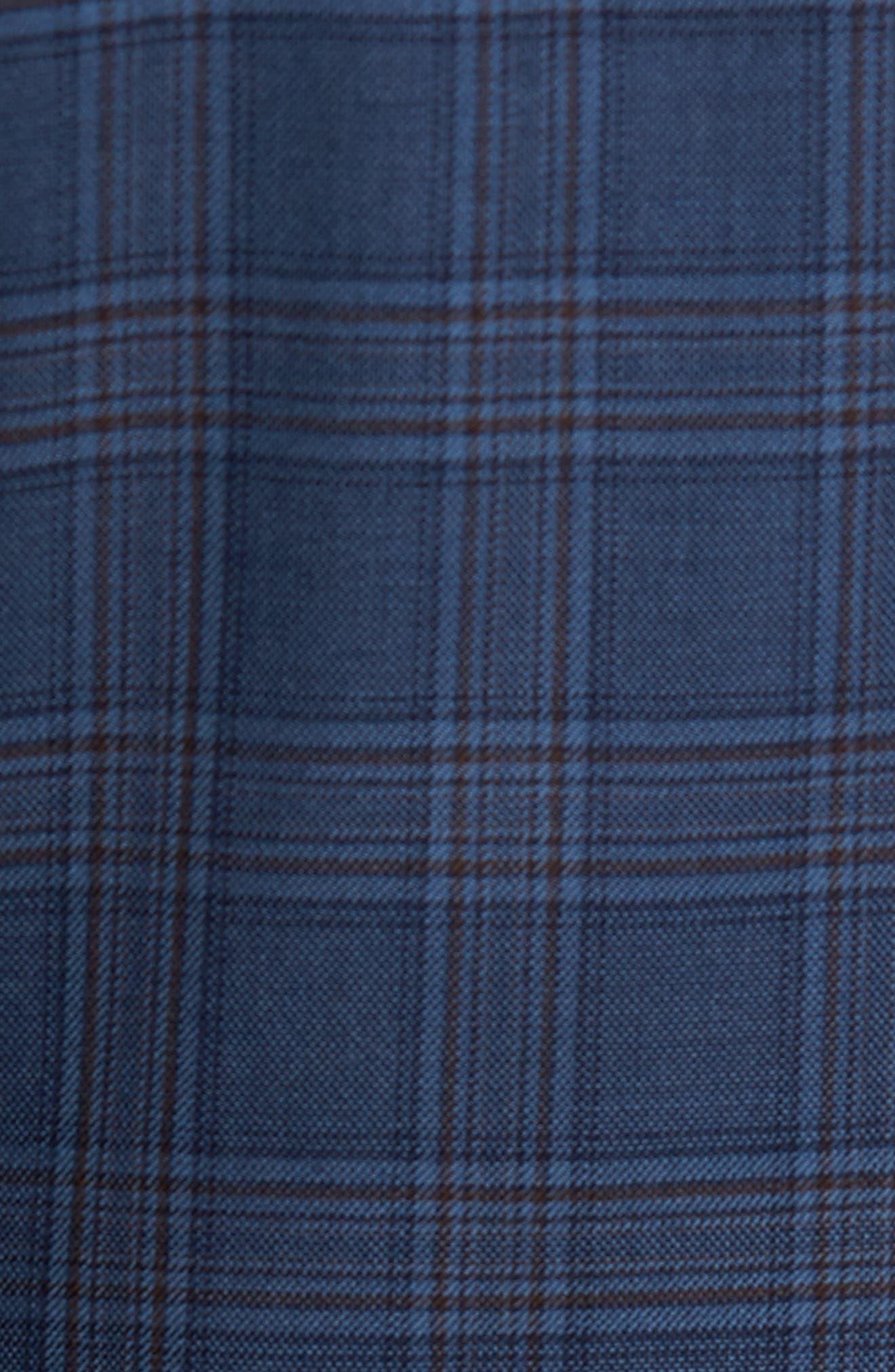 Classic Fit Plaid Wool Sport Coat,                             Alternate thumbnail 6, color,                             422
