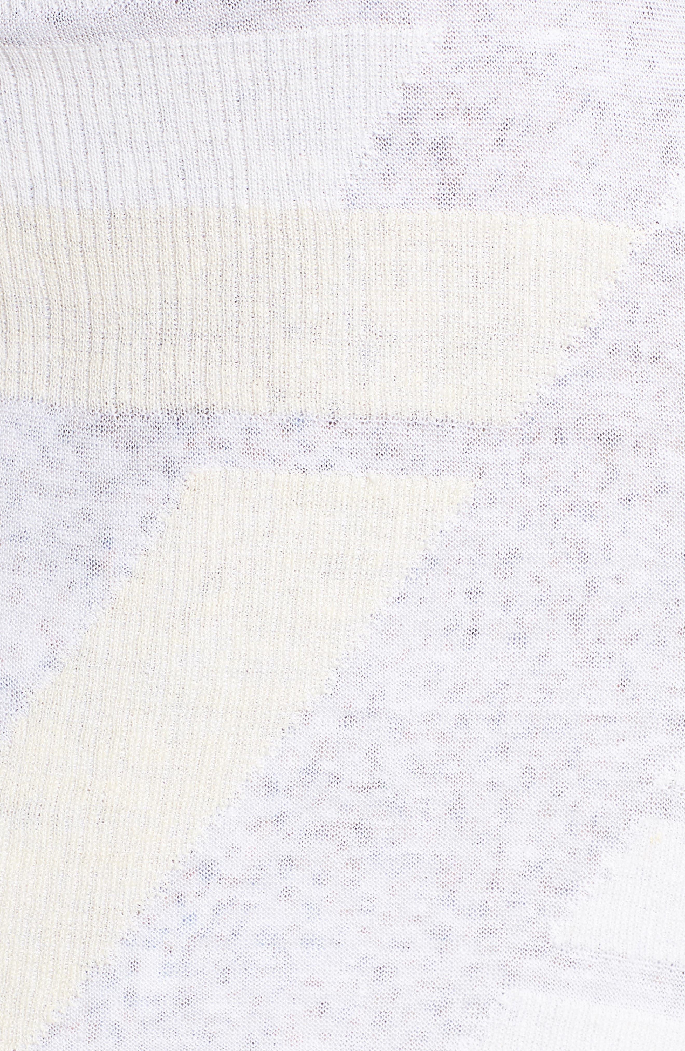 Sunlight Chiffon Trim Linen Blend Cardigan,                             Alternate thumbnail 5, color,                             MULTI
