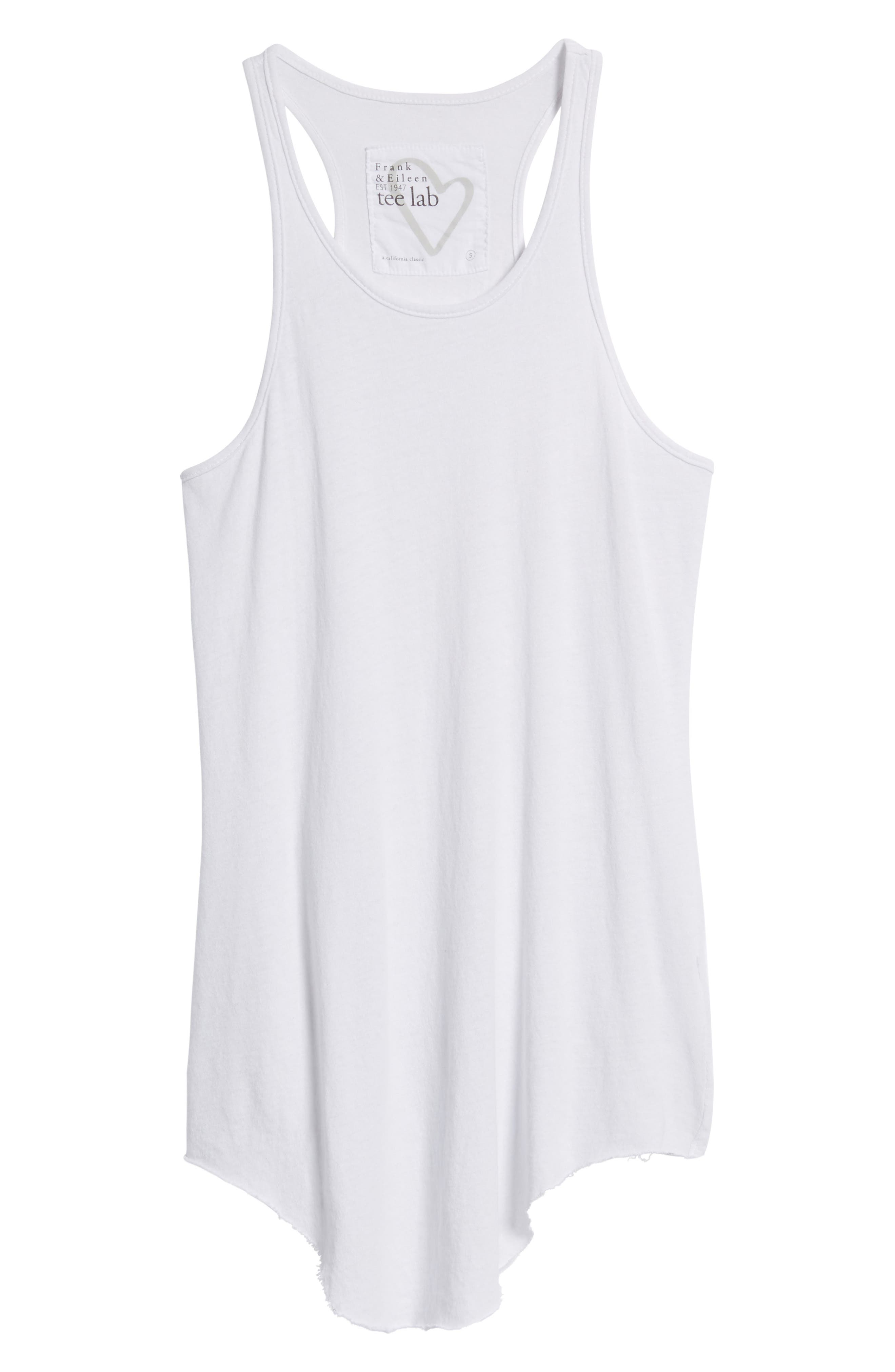 Long Layering Tank,                             Alternate thumbnail 6, color,                             DIRTY WHITE