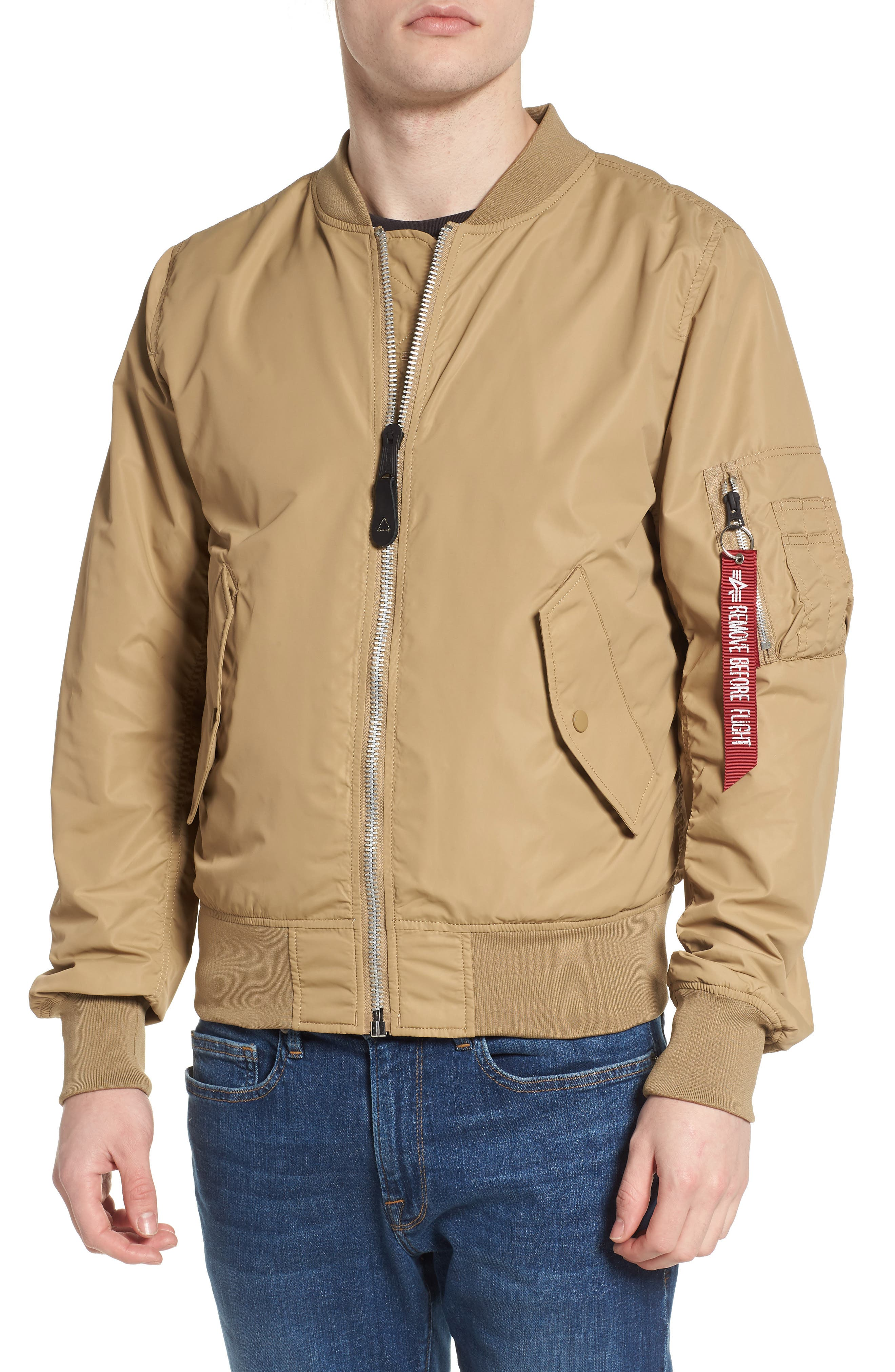 LB-2 Scout Reversible Flight Jacket,                             Alternate thumbnail 26, color,