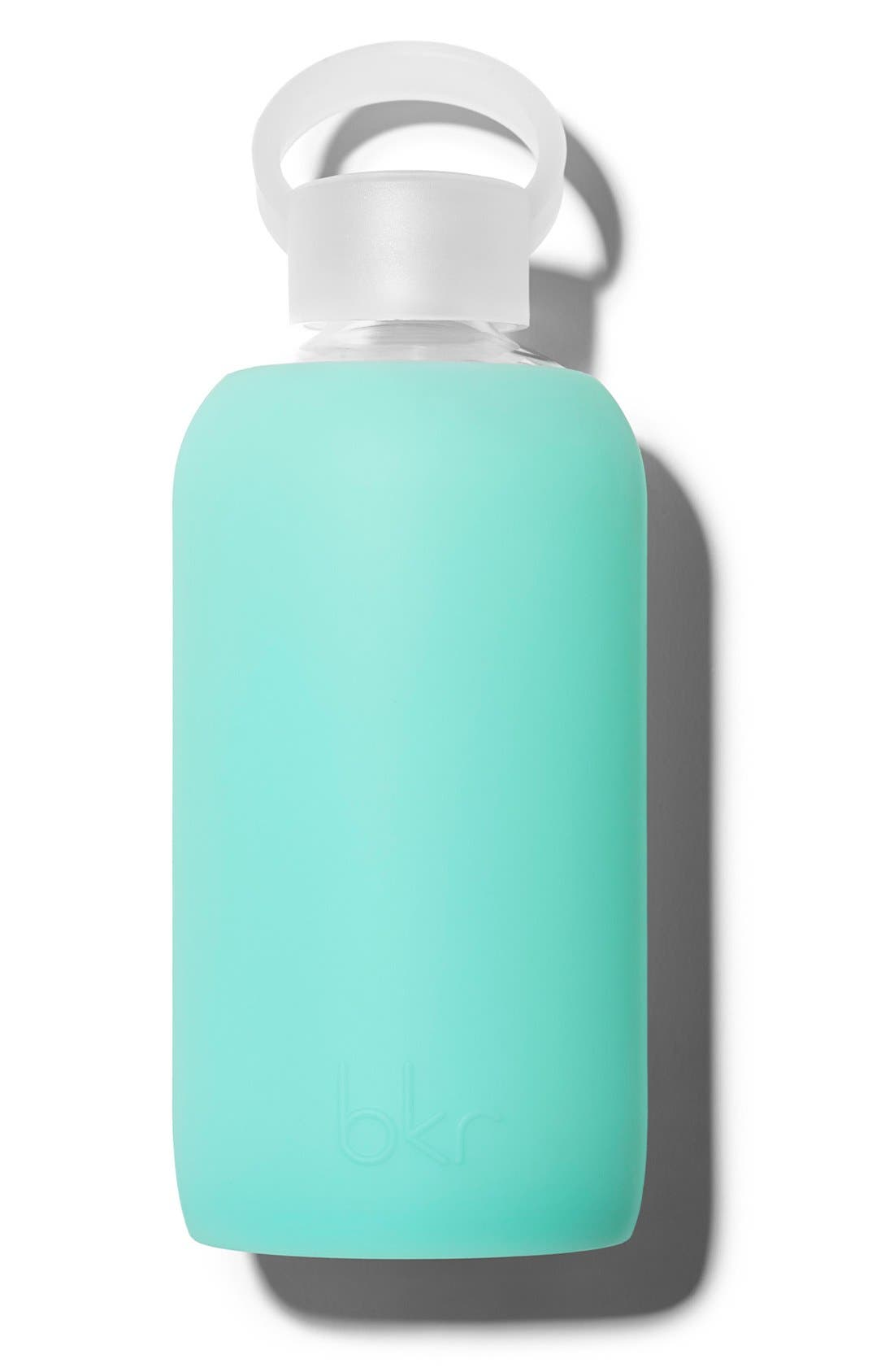 16-Ounce Glass Water Bottle,                         Main,                         color, HOLIDAY
