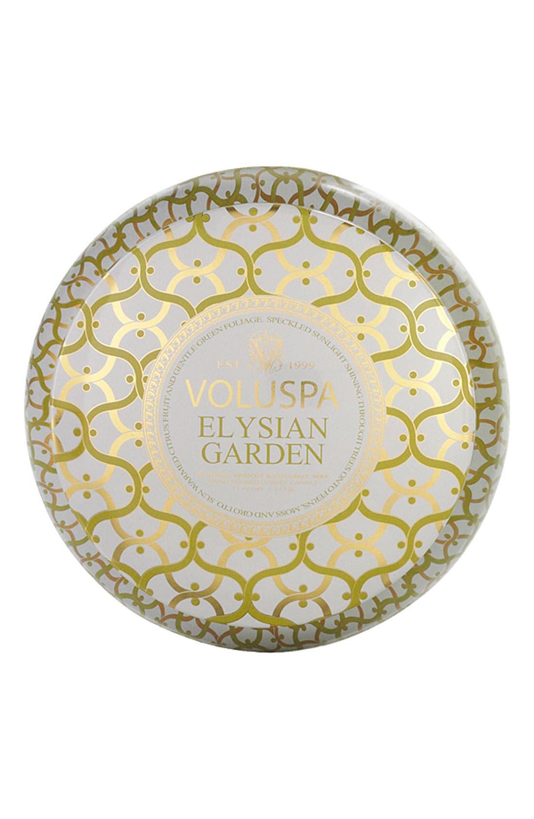 'Maison Blanc - Elysian Garden' 2-Wick Candle,                             Alternate thumbnail 2, color,                             000