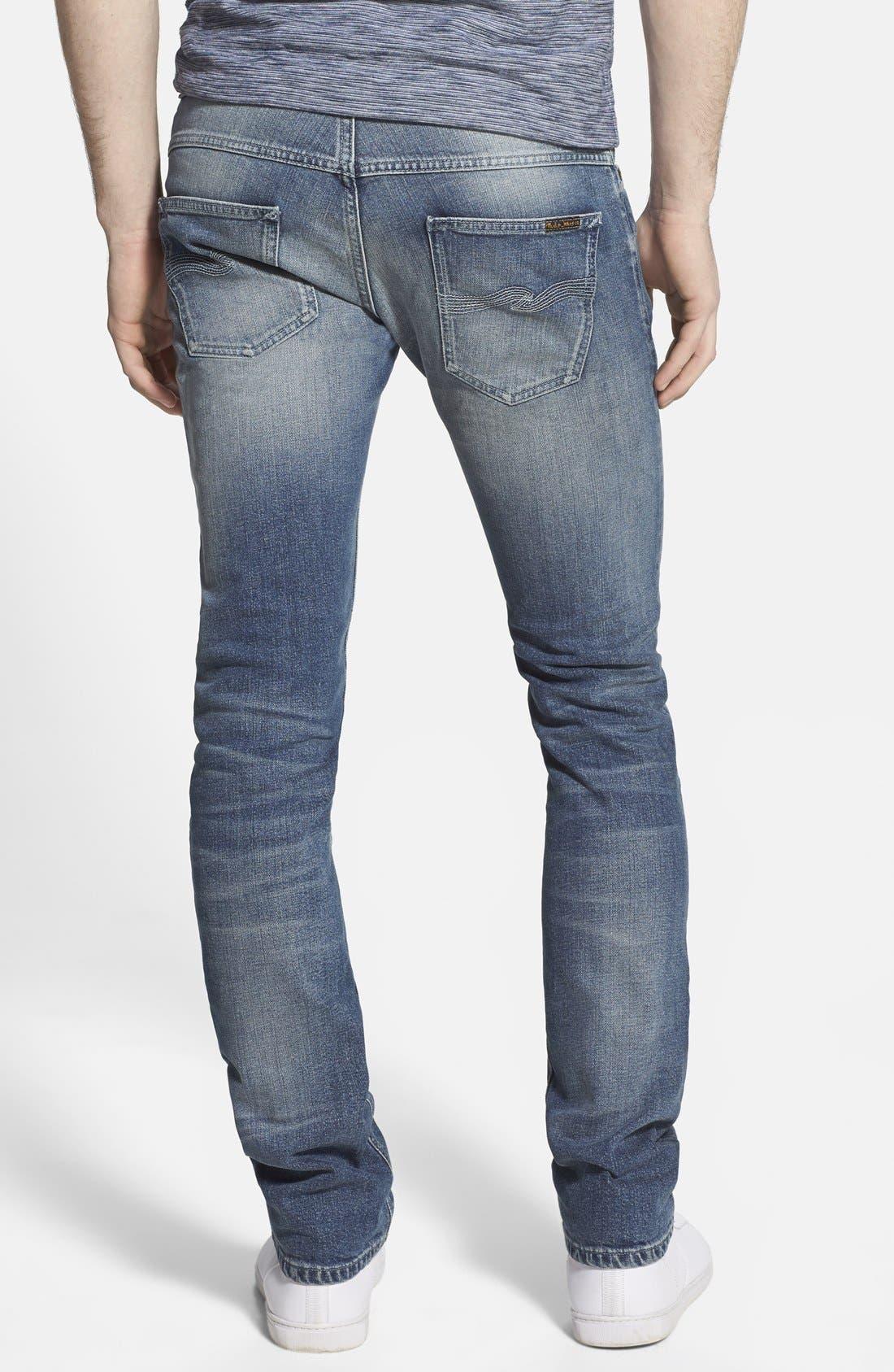 'Thin Finn' Skinny Fit Jeans,                             Alternate thumbnail 3, color,                             401