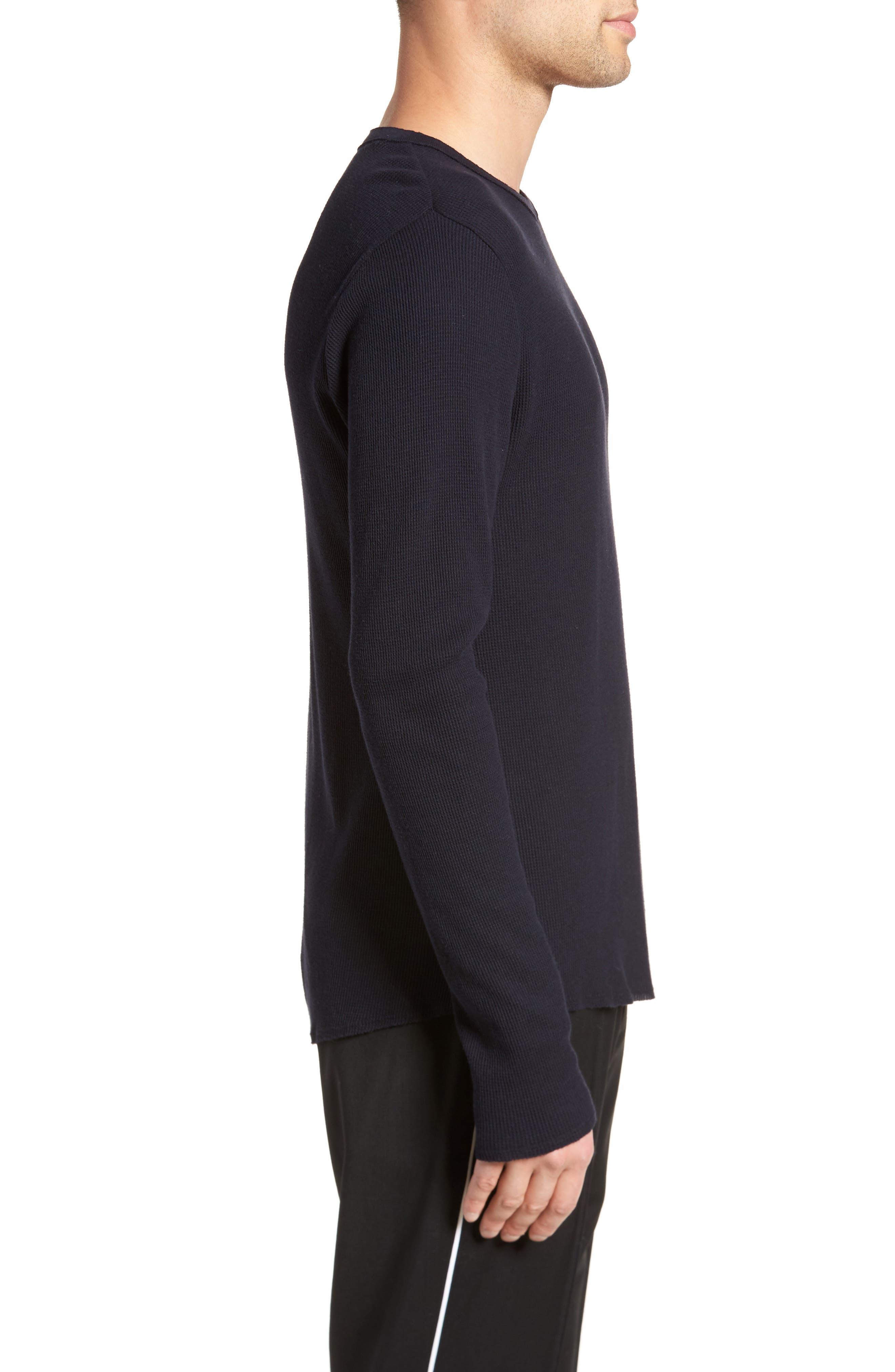 Thermal Knit Long Sleeve T-Shirt,                             Alternate thumbnail 9, color,