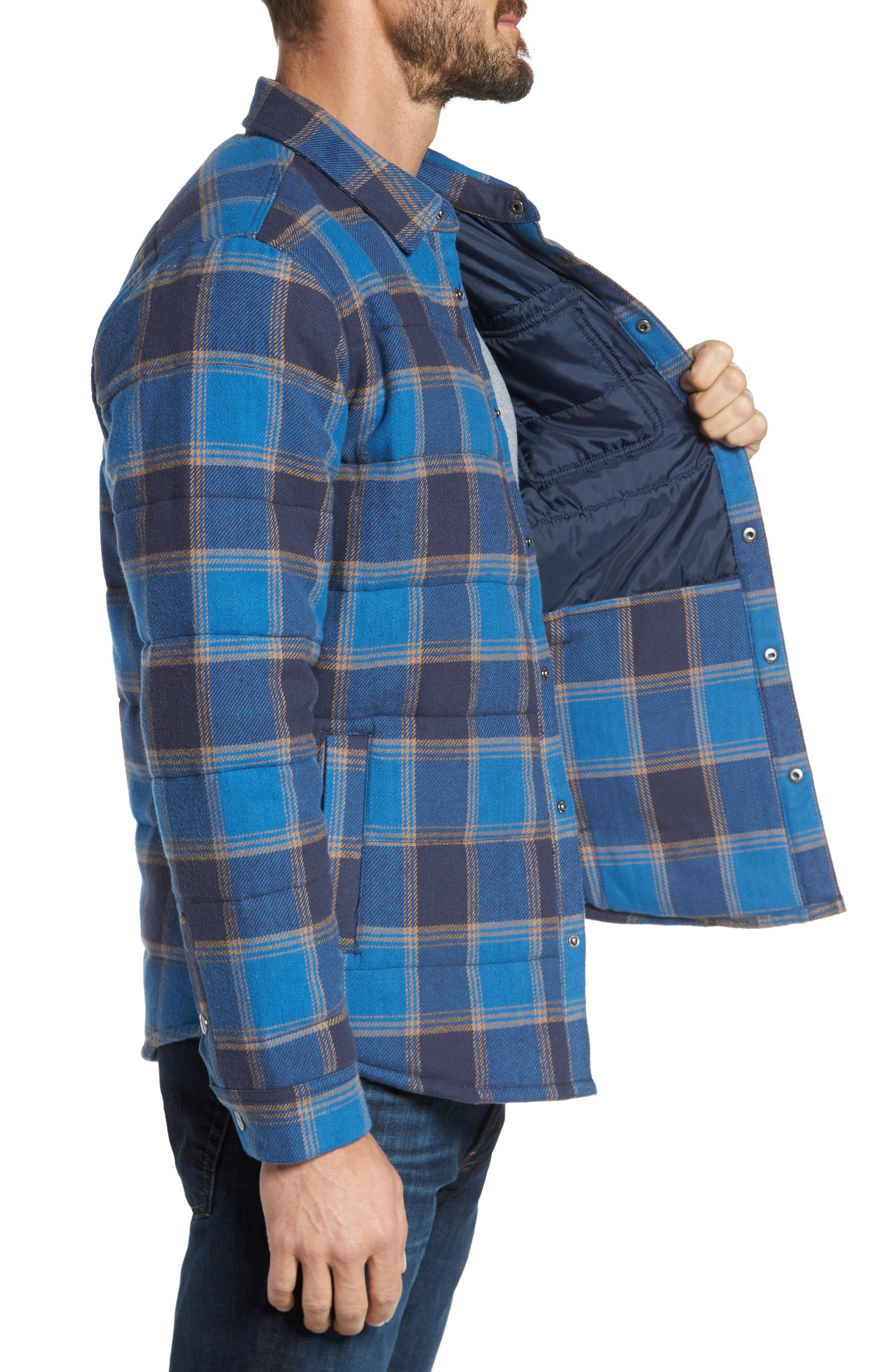 'Cass' Quilted Jacket,                             Alternate thumbnail 16, color,