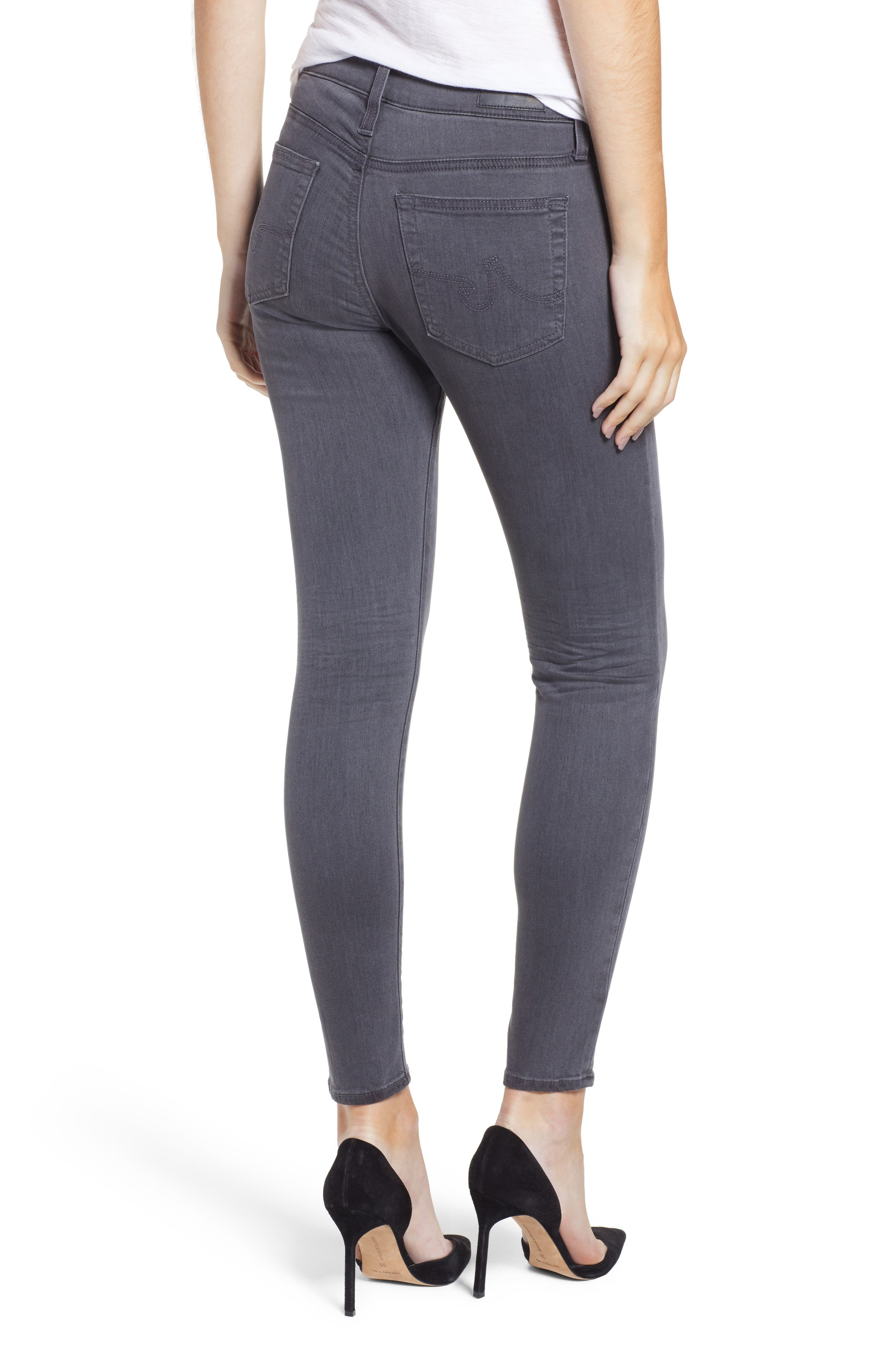 The Farrah High Waist Ankle Skinny Faux Leather Pants,                             Alternate thumbnail 7, color,