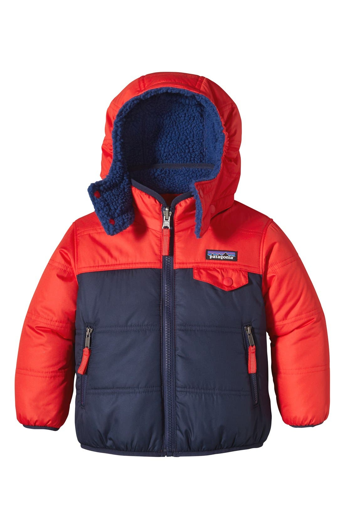 'Tribbles' Reversible Water Resistant Snow Jacket,                             Main thumbnail 4, color,