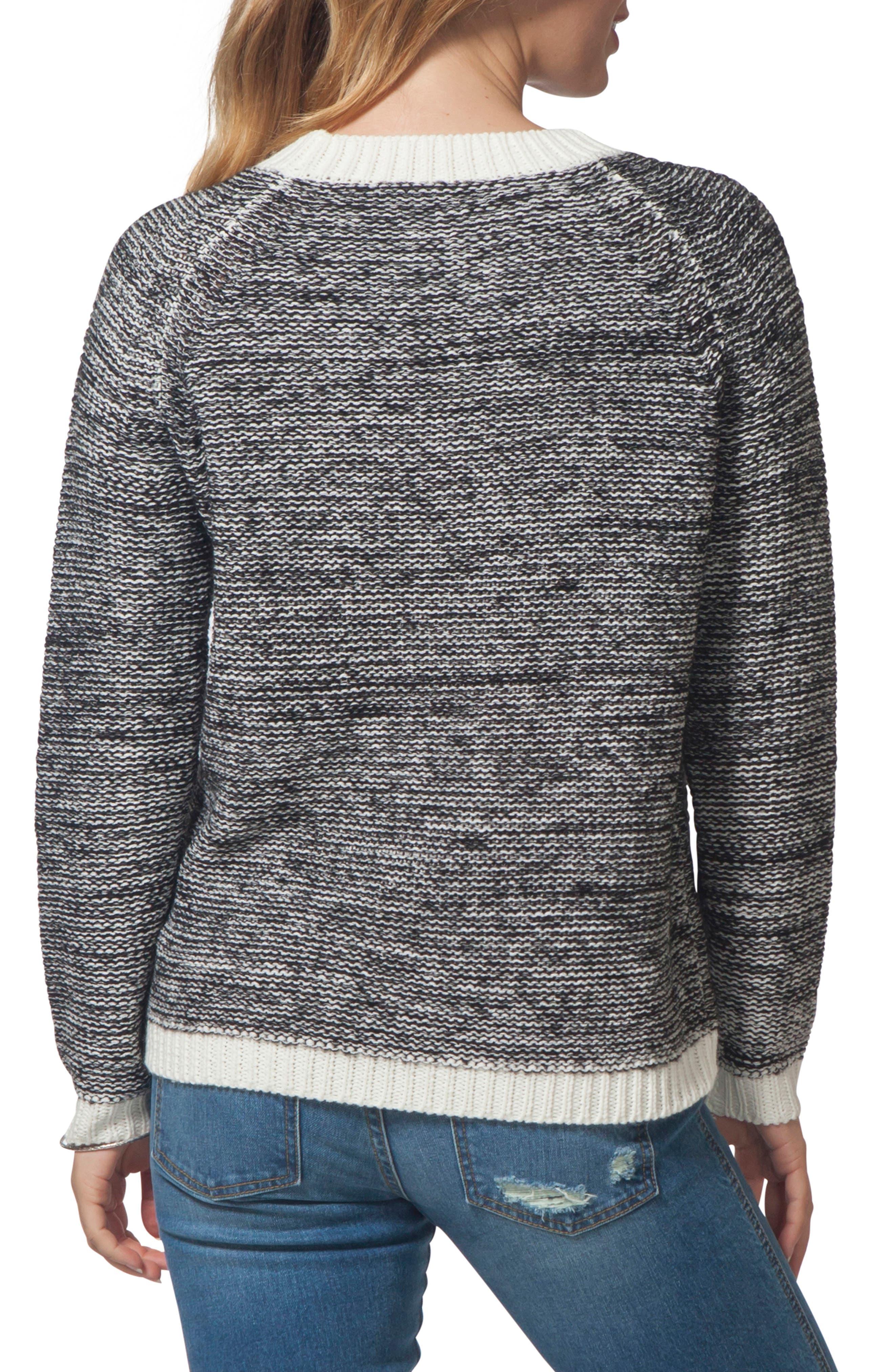 Beachside Crewneck Sweater,                             Alternate thumbnail 2, color,                             CASTOR GRAY